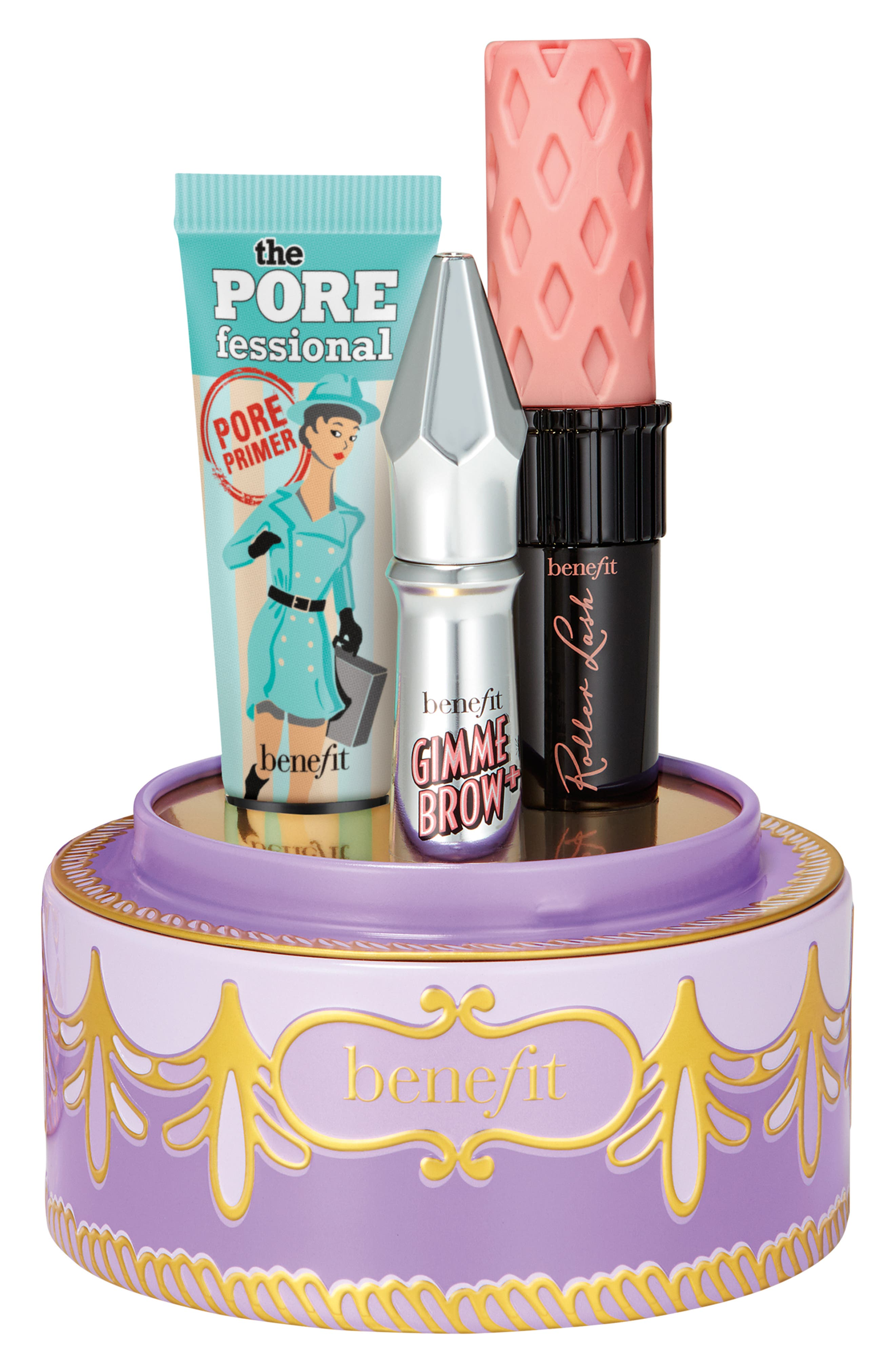 Benefit Confection Cuties Set,                             Alternate thumbnail 3, color,                             000