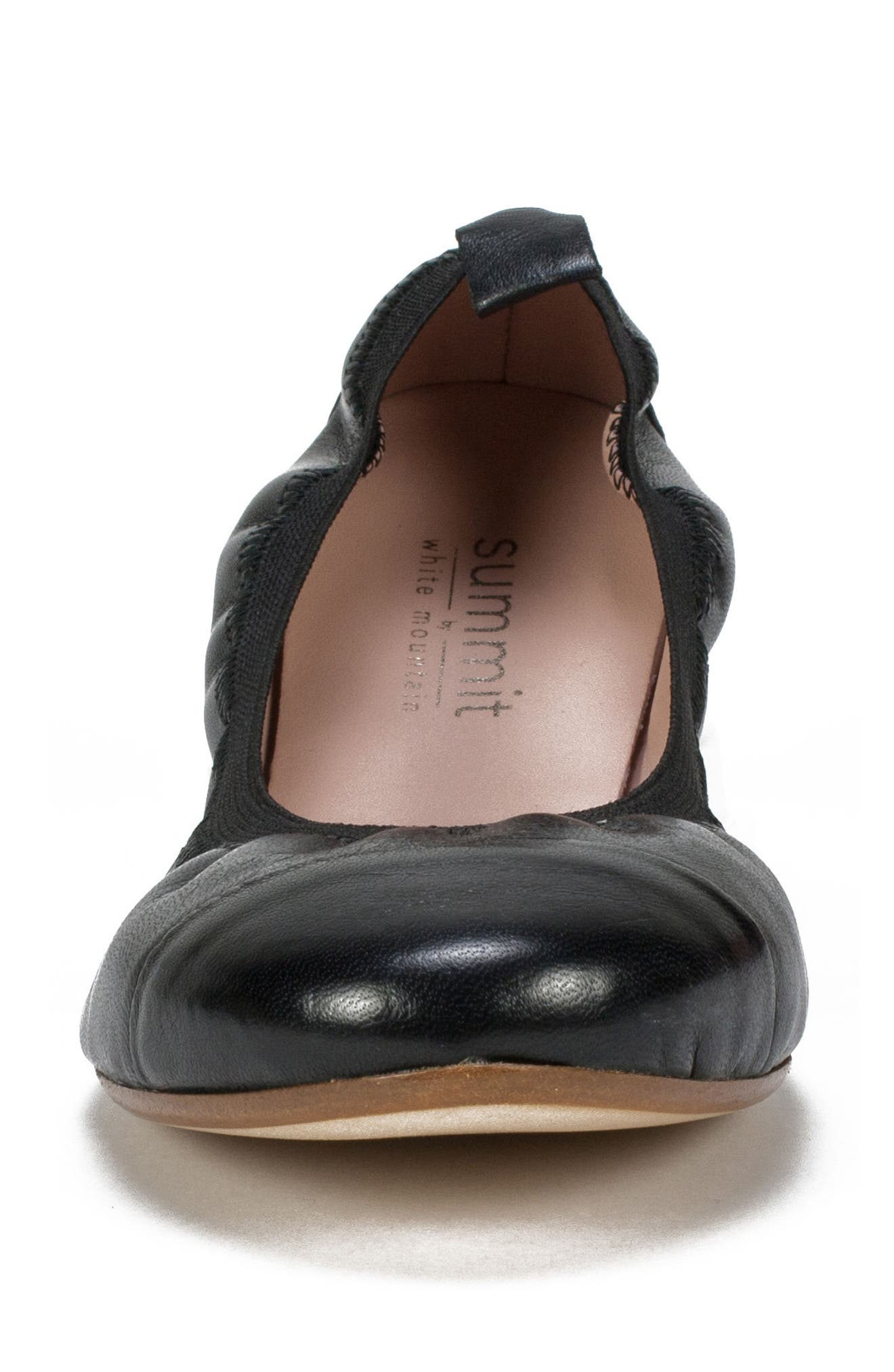 Summit Kara Ballet Flat,                             Alternate thumbnail 4, color,                             001