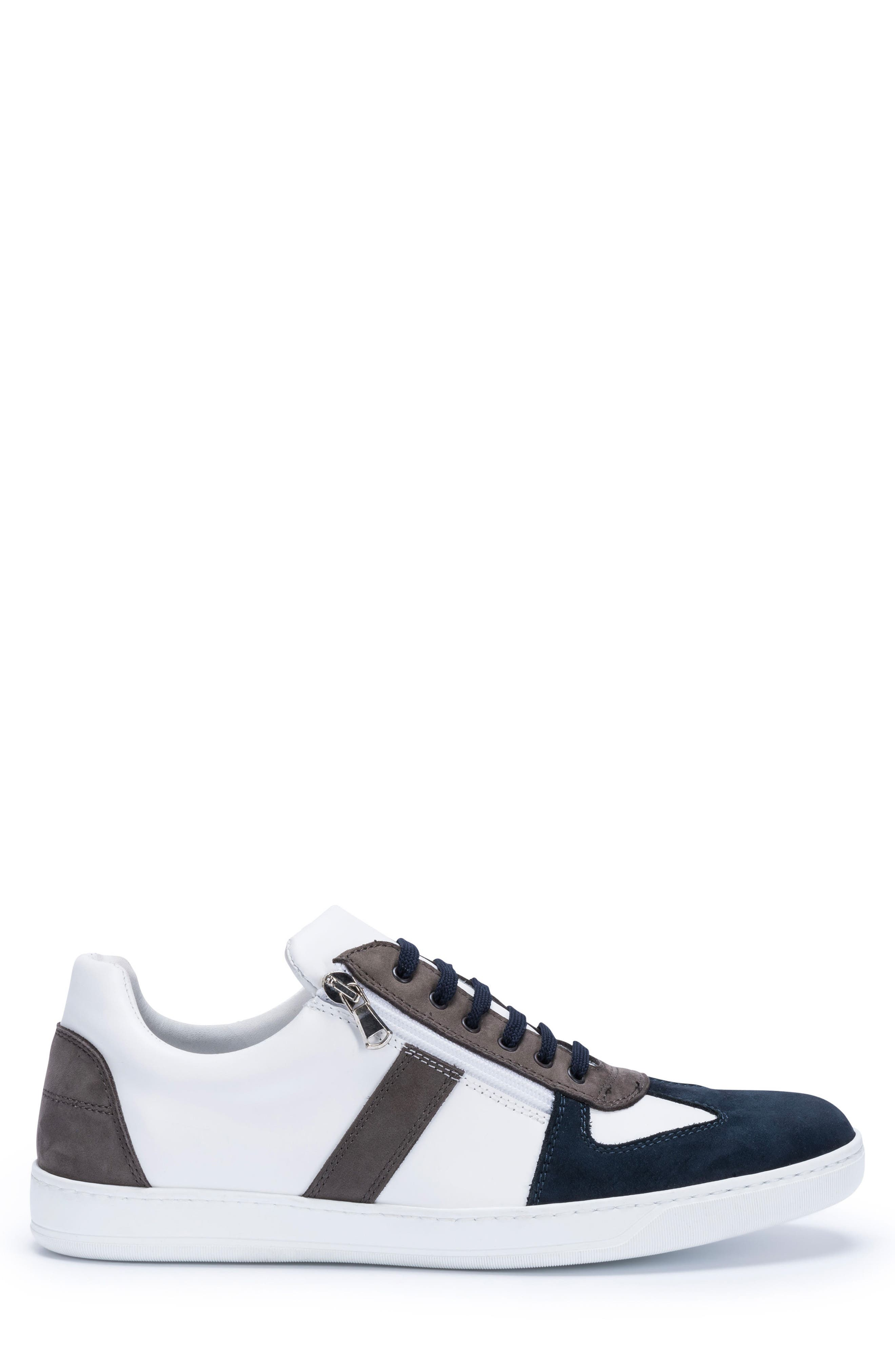 Calabria Sneaker,                             Alternate thumbnail 3, color,                             WHITE