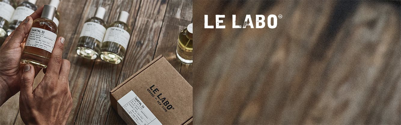 Le Labo fragrances.
