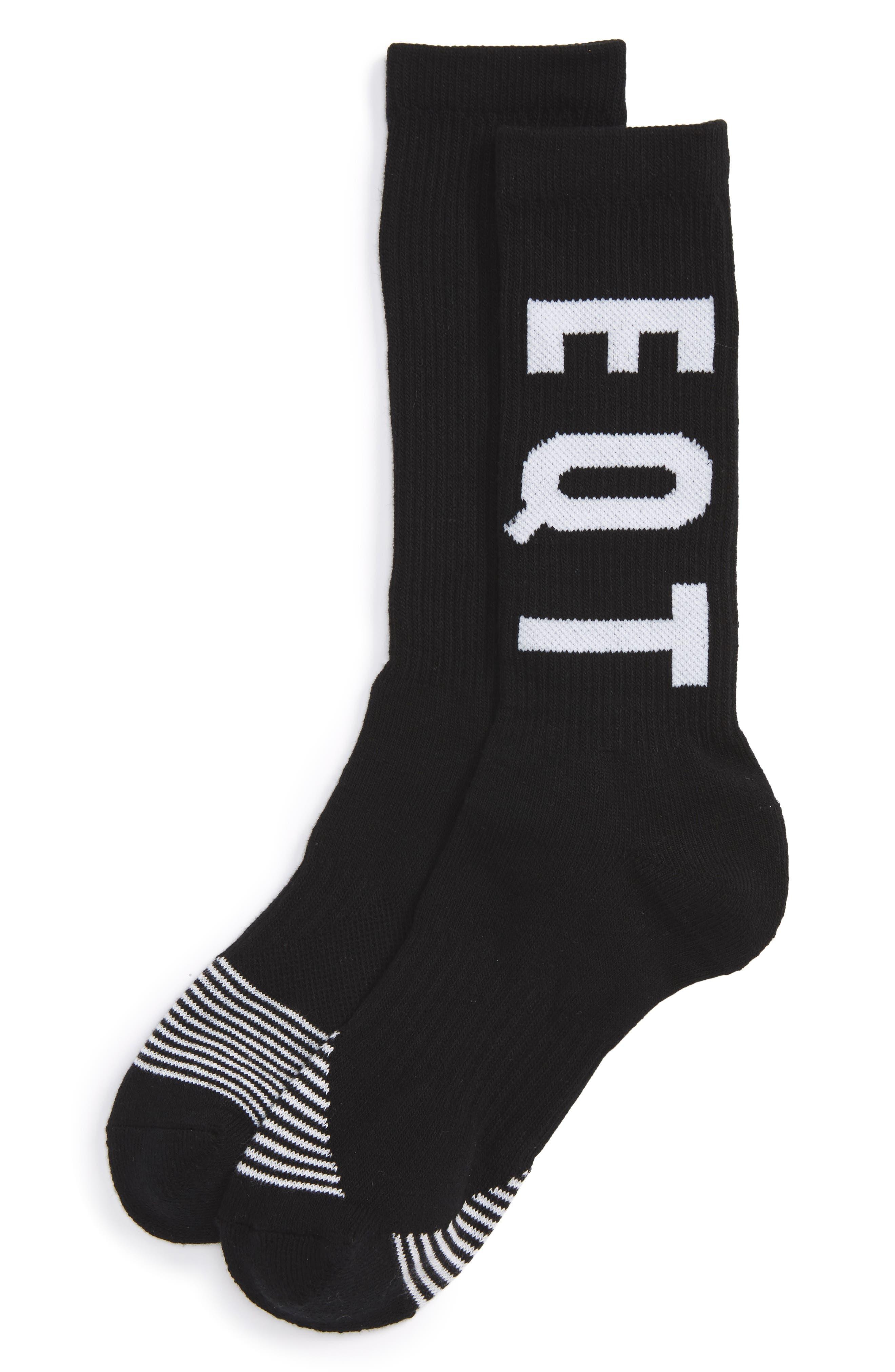 Equipment Crew Socks,                             Alternate thumbnail 2, color,                             001