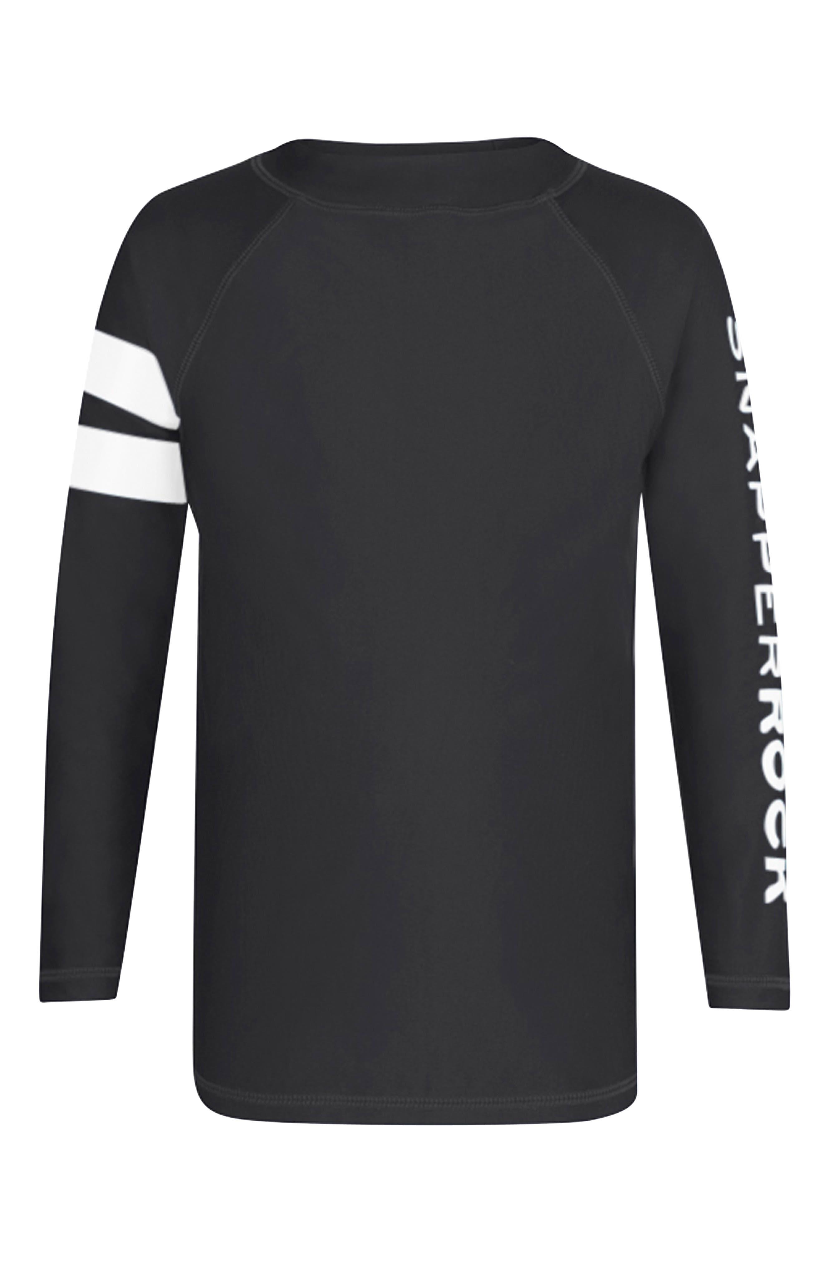 Long Sleeve Rashguard,                         Main,                         color, STEEL GREY