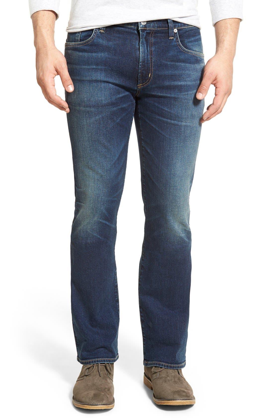 Bootcut Jeans,                         Main,                         color, 420