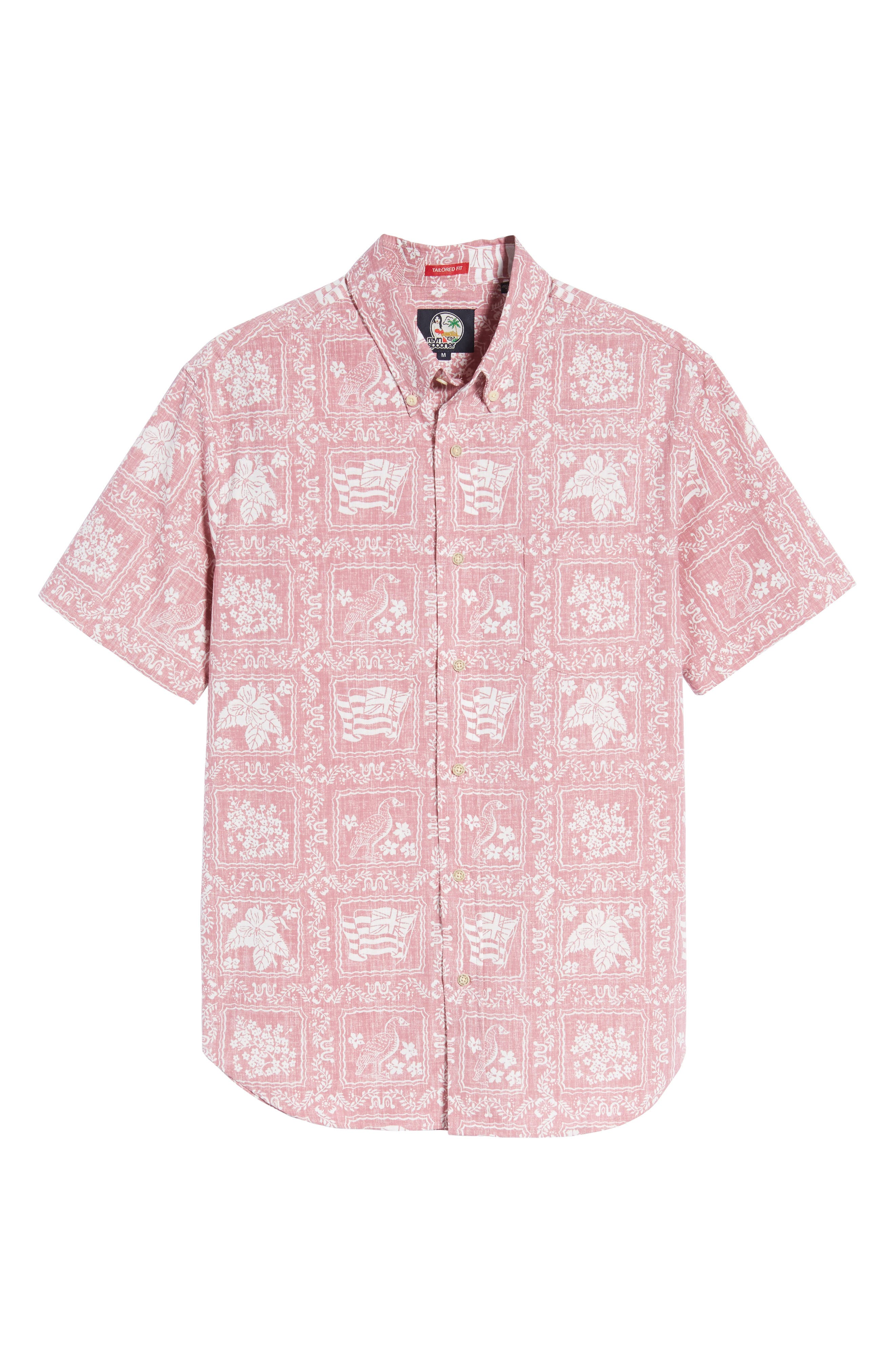 Lahaina Sailor Tailored Fit Sport Shirt,                             Alternate thumbnail 17, color,