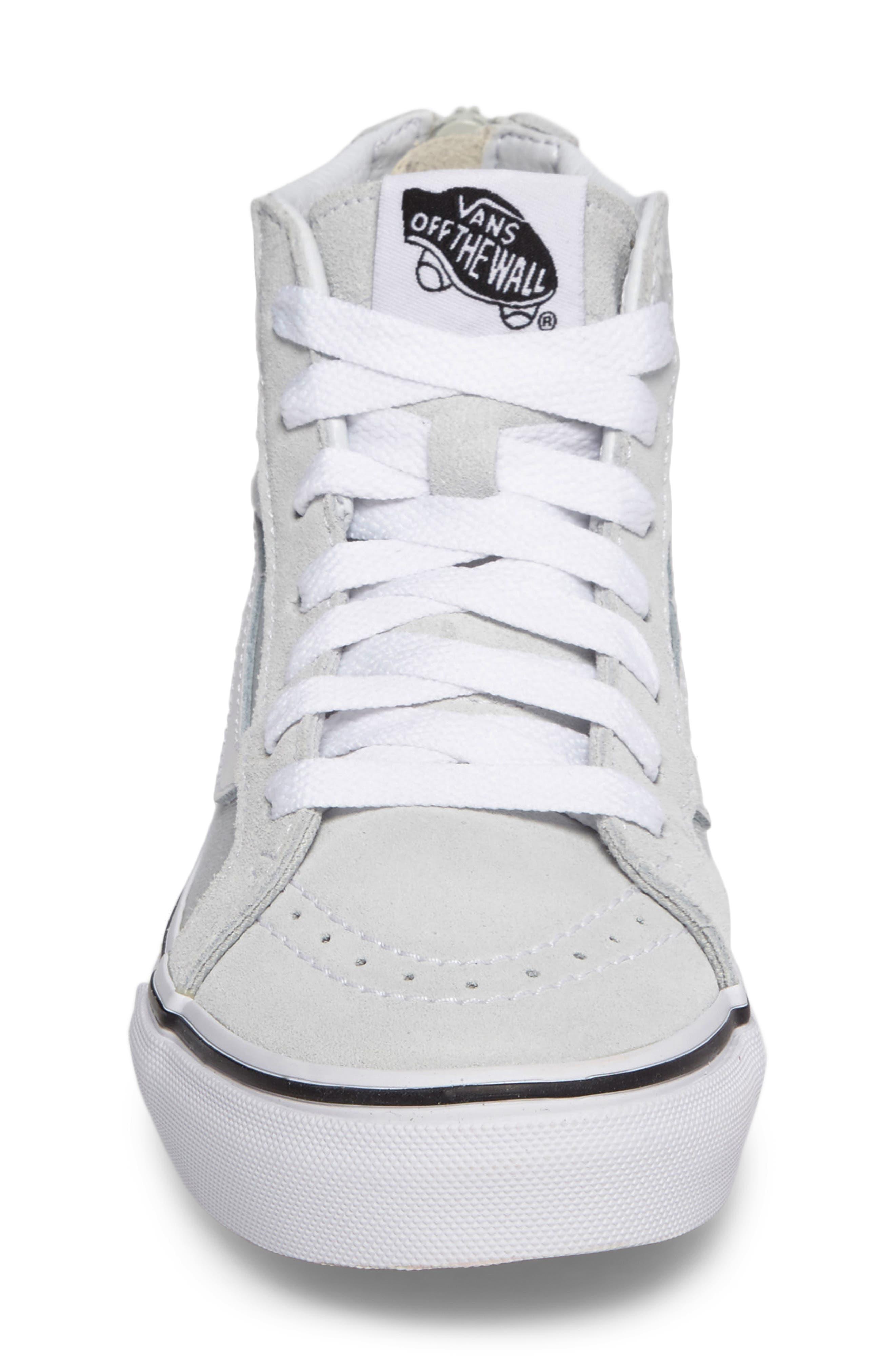 SK8-Hi Zip Sneaker,                             Alternate thumbnail 4, color,                             900