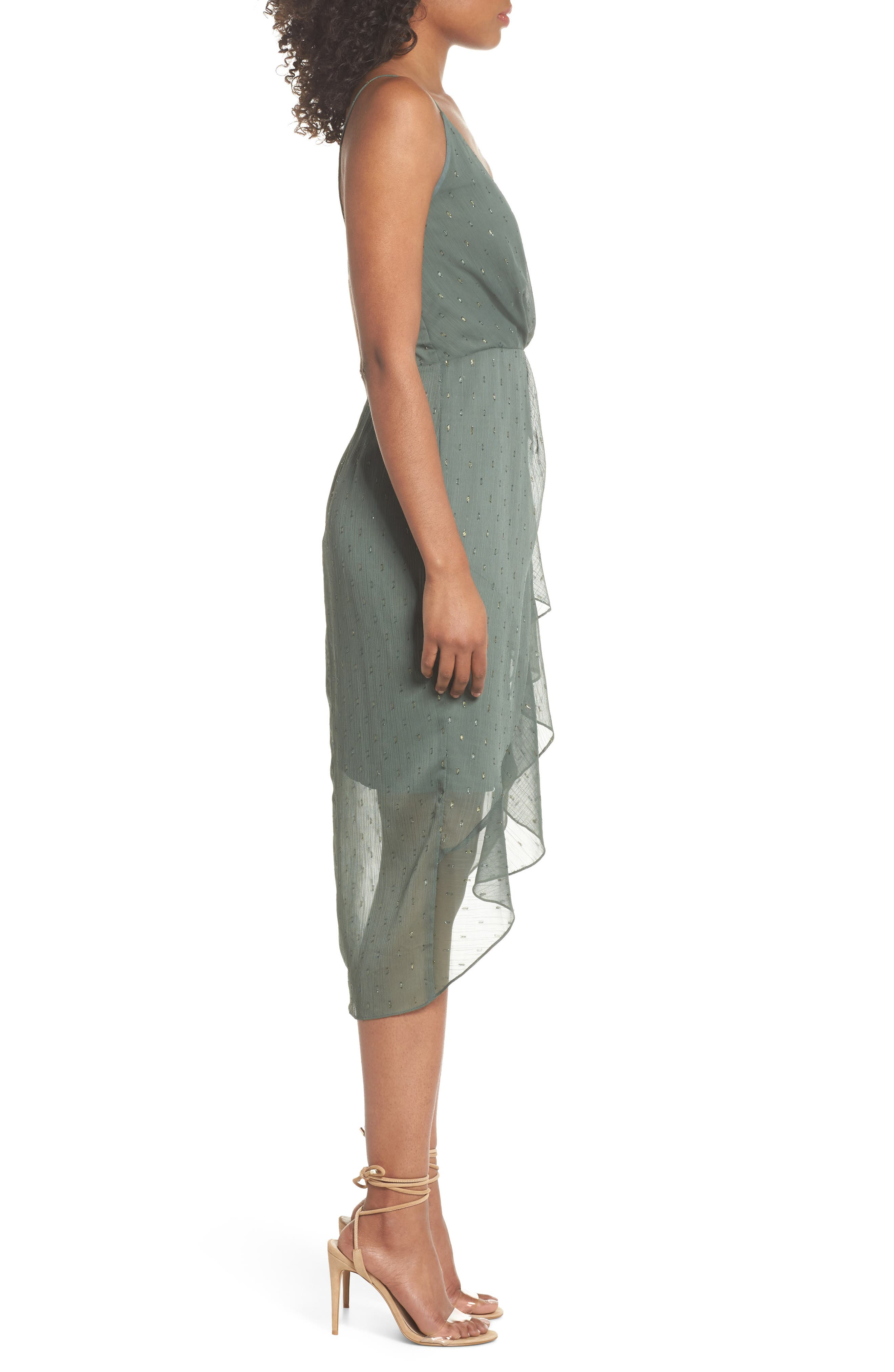 COOPER ST,                             Wind In The Willows Drape Dress,                             Alternate thumbnail 3, color,                             325