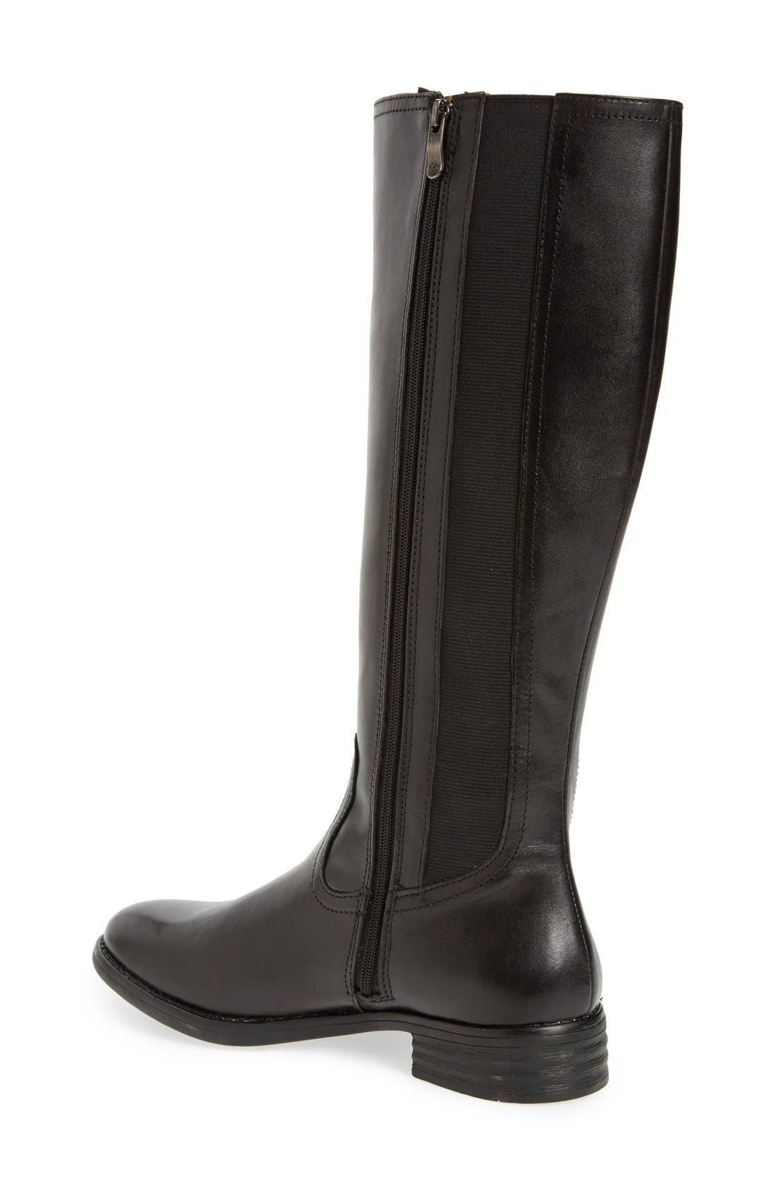 'Tanga' Riding Boot,                             Alternate thumbnail 2, color,                             001