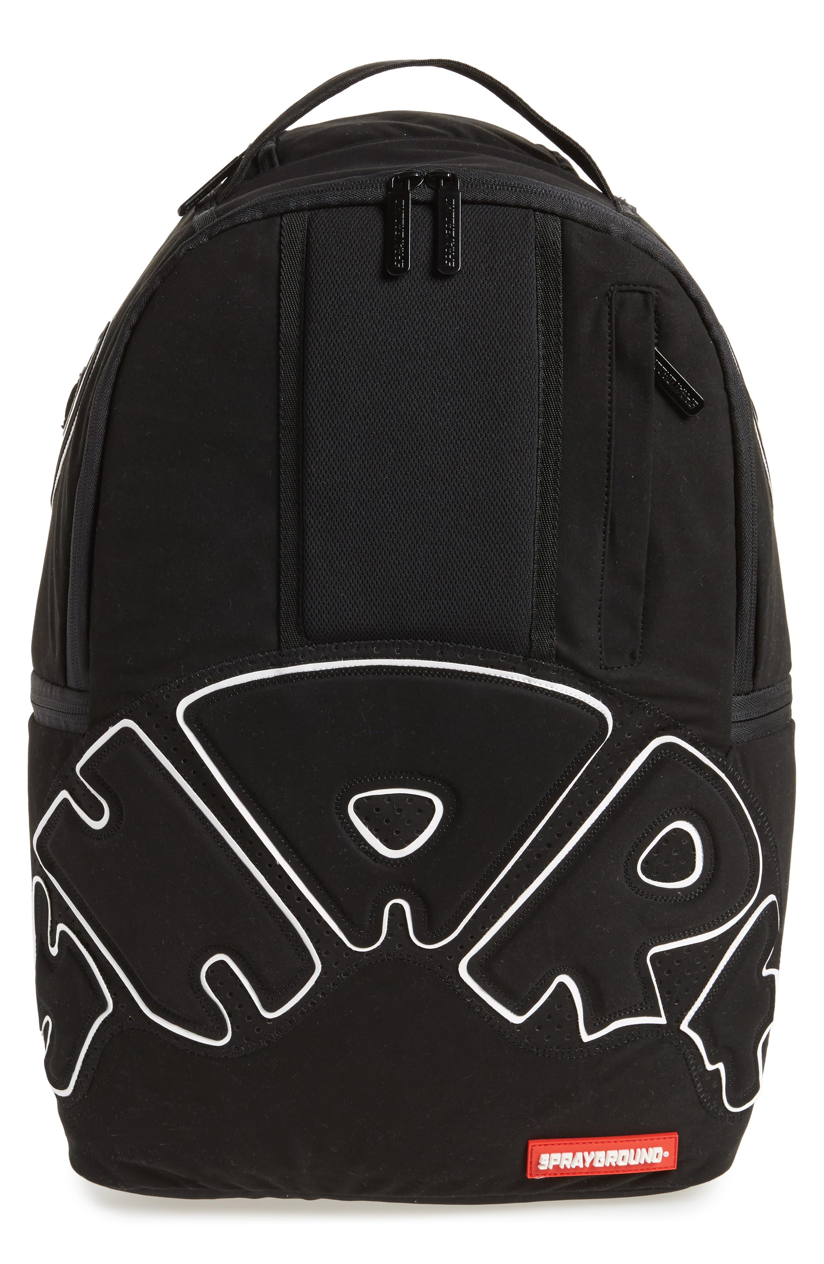 Uptempo Shark Backpack,                             Main thumbnail 1, color,                             001