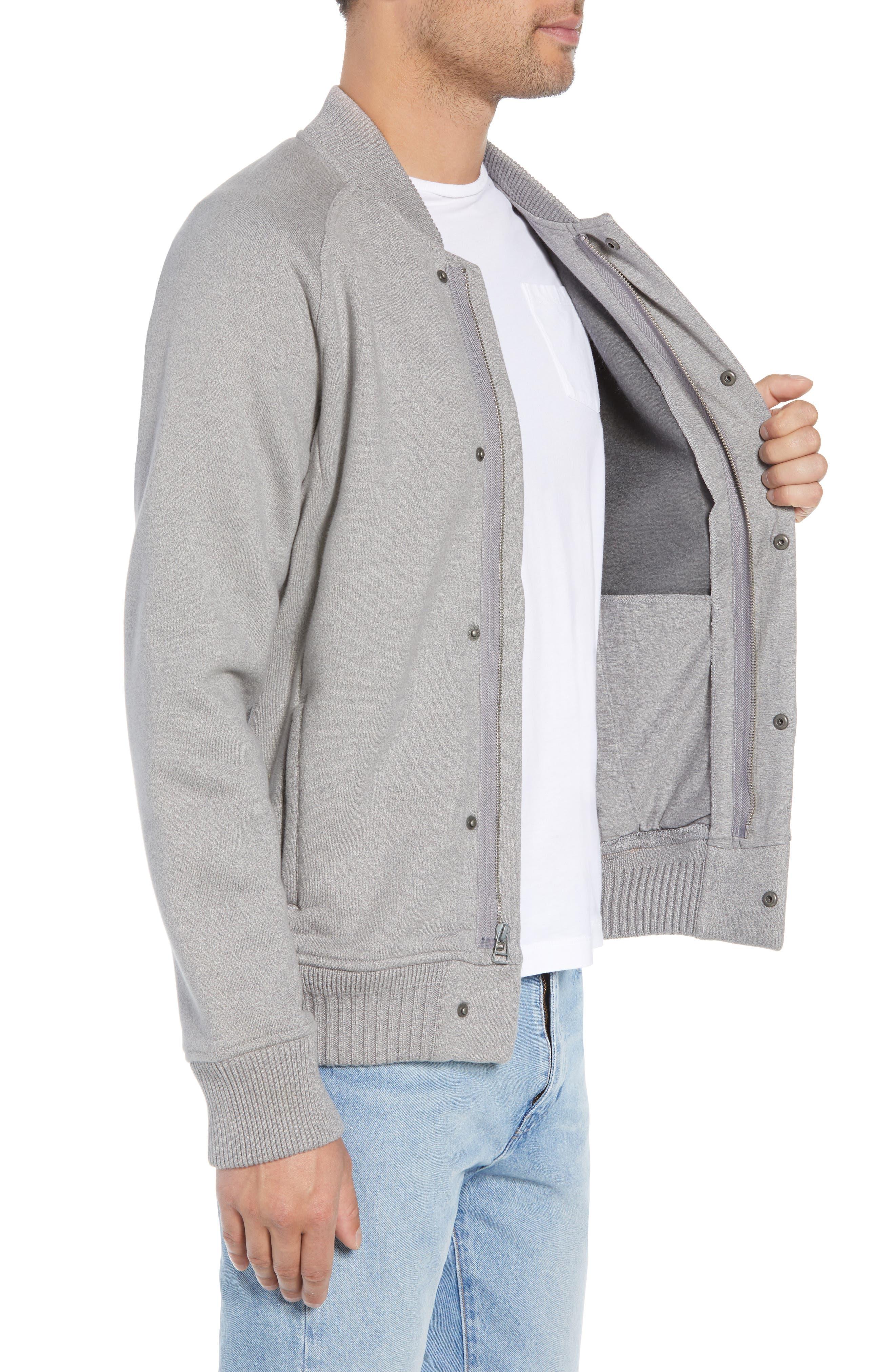 Levi's Knit Bomber Jacket,                             Alternate thumbnail 3, color,                             020