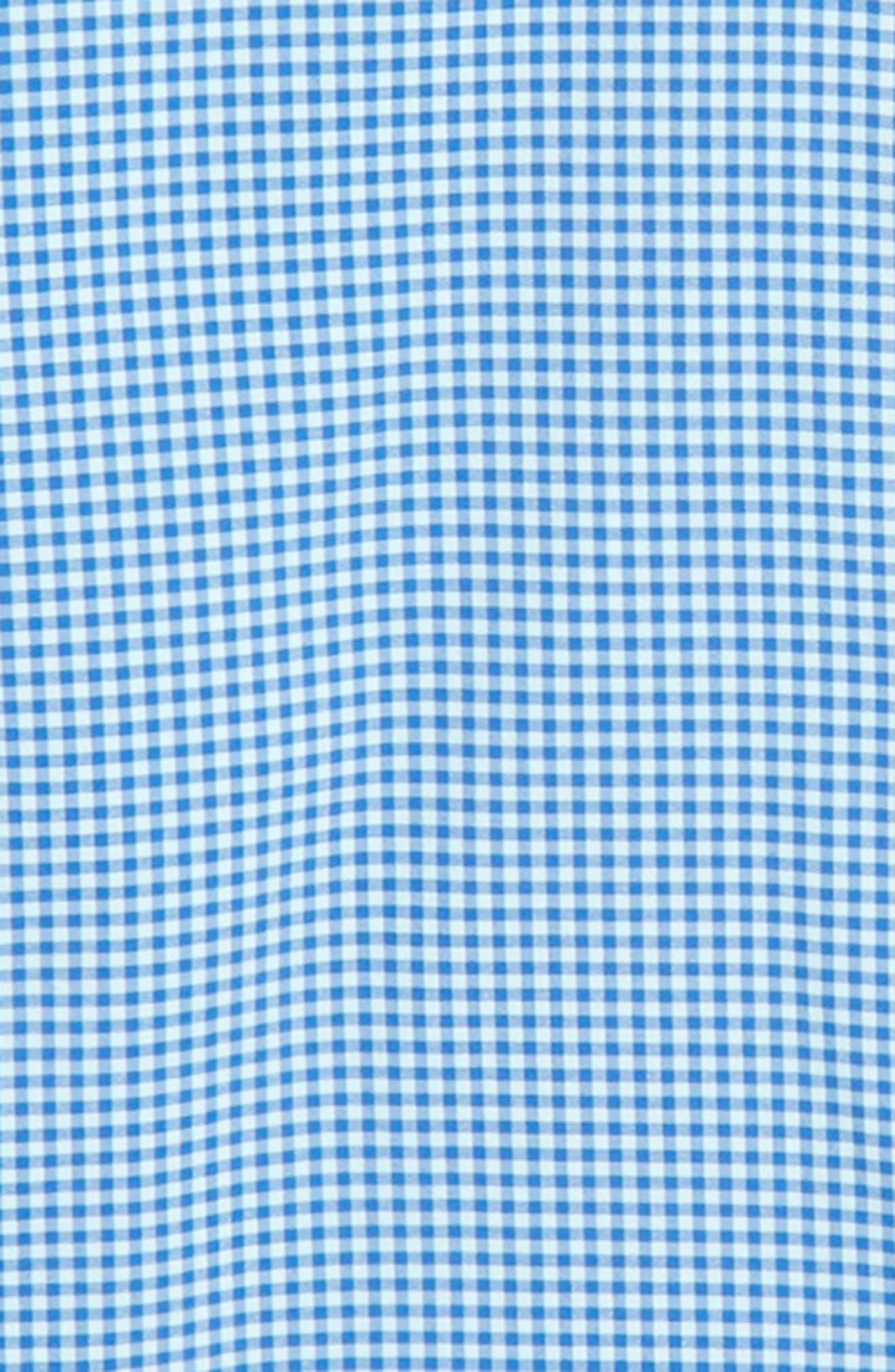 Marina Gingham Check Whale Shirt,                             Alternate thumbnail 2, color,                             451
