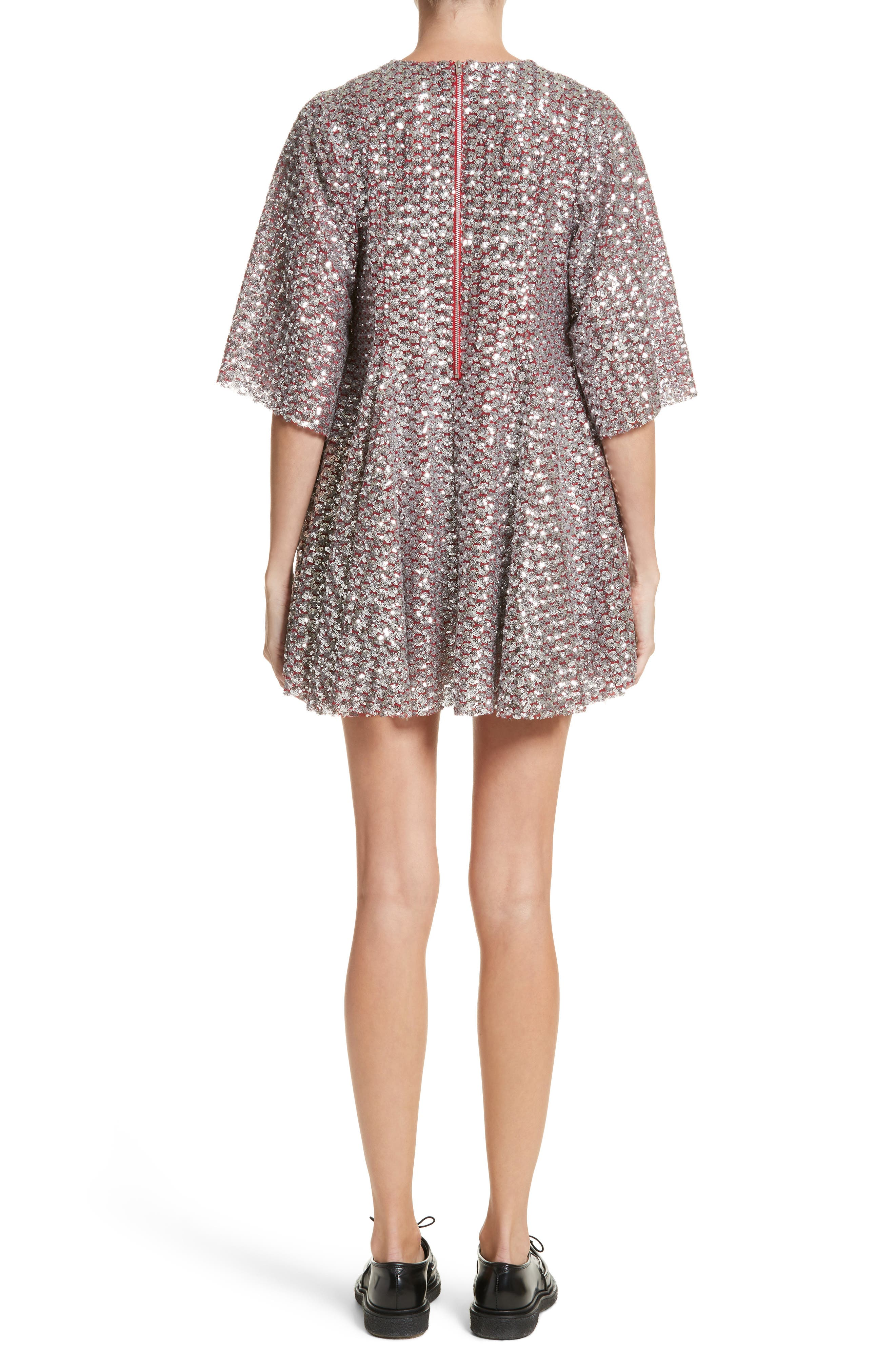 Simmi Sequin Dress,                             Alternate thumbnail 2, color,                             040