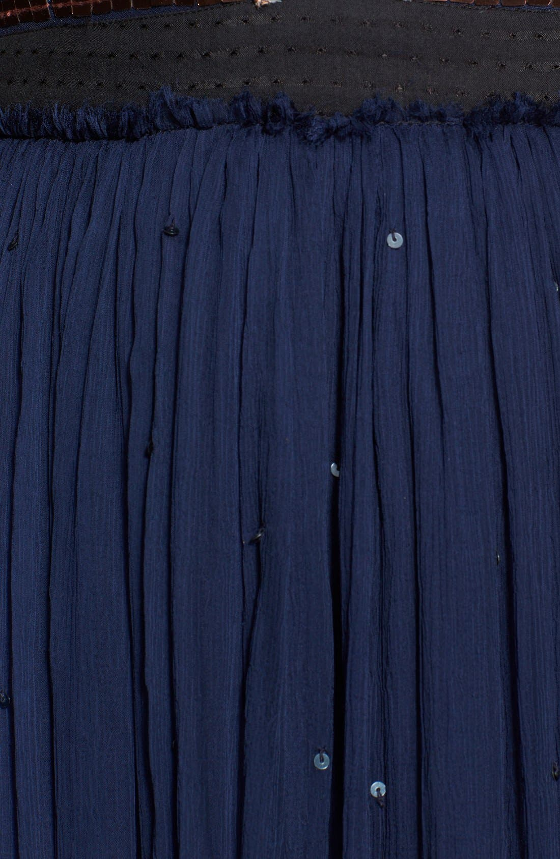 Embellished Chiffon Maxi Dress,                             Alternate thumbnail 2, color,                             409