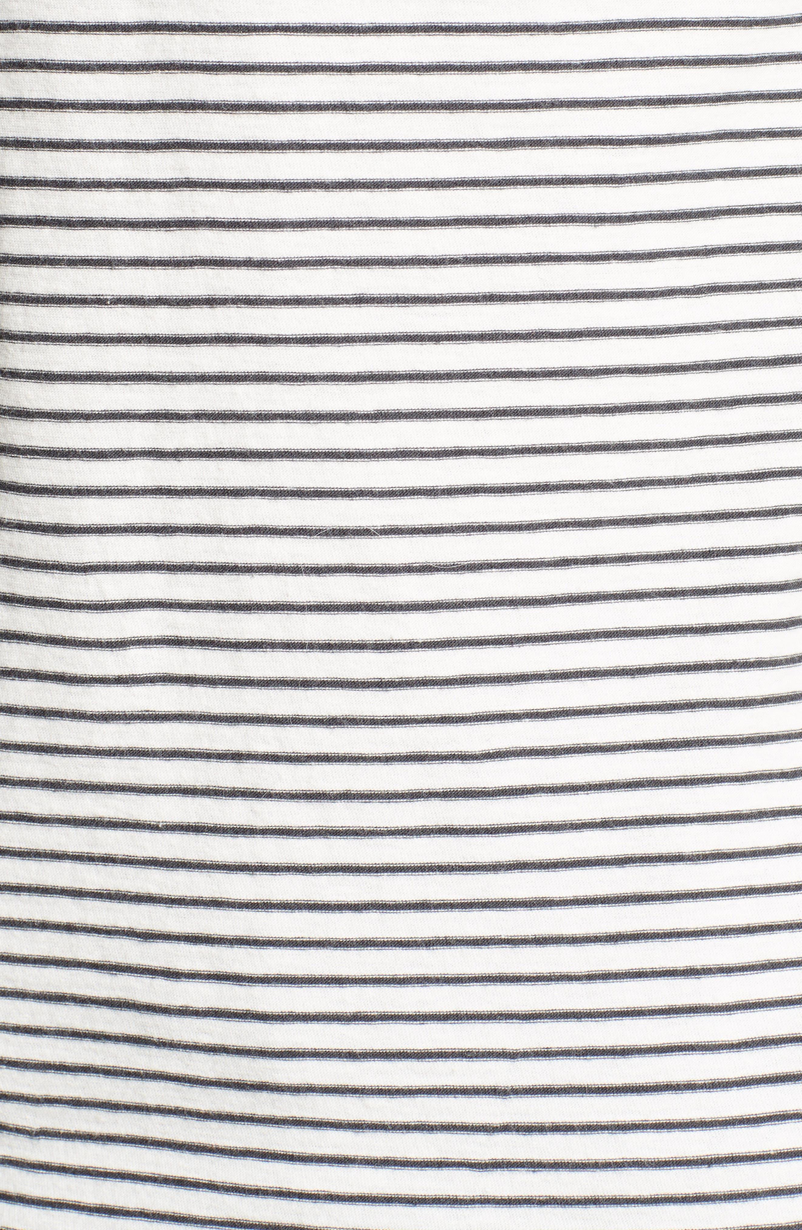 Stripe Henley,                             Alternate thumbnail 5, color,