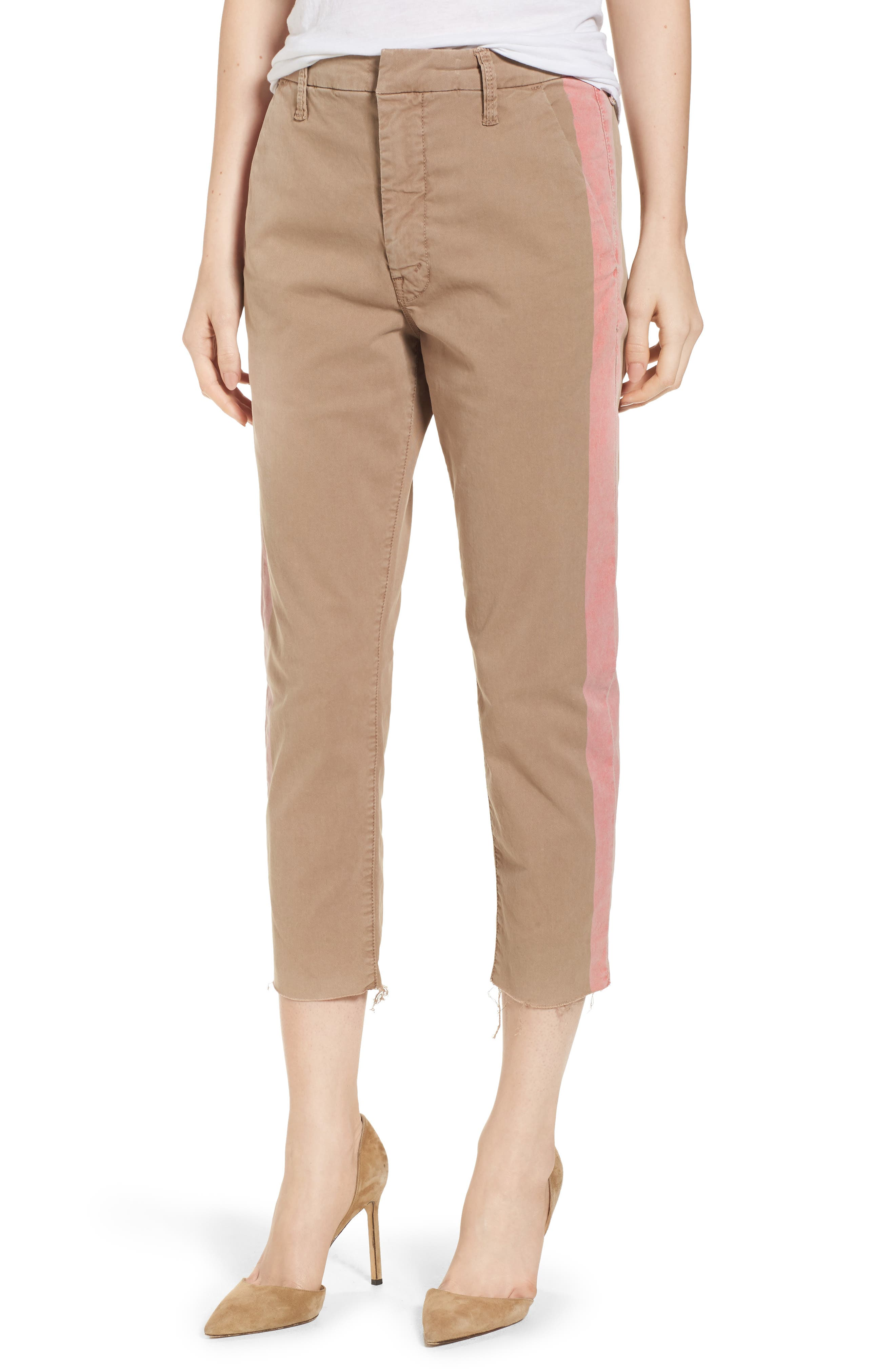 The Shaker Prep High Waist Crop Chinos,                             Main thumbnail 1, color,                             253