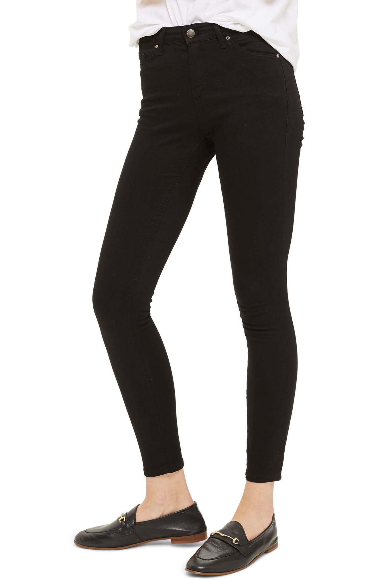 Leigh Jeans,                         Main,                         color, BLACK