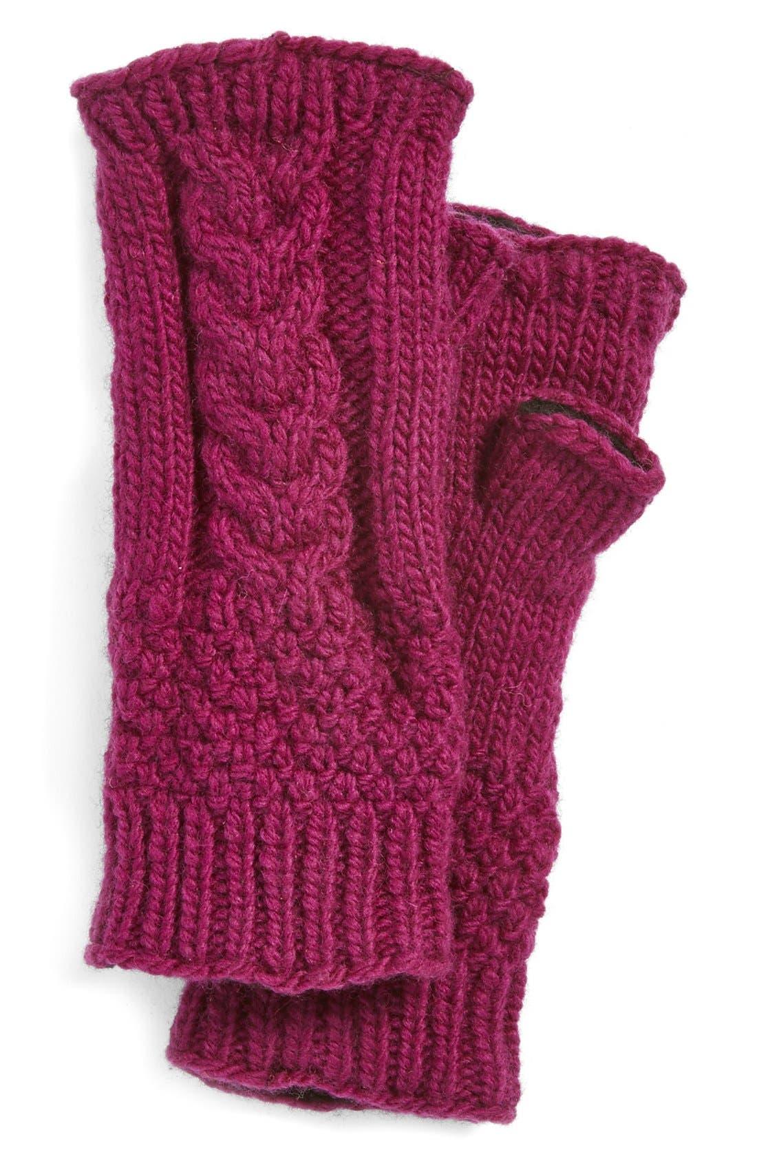 NirvannaDesigns Cable Knit Hand Warmers,                             Main thumbnail 7, color,