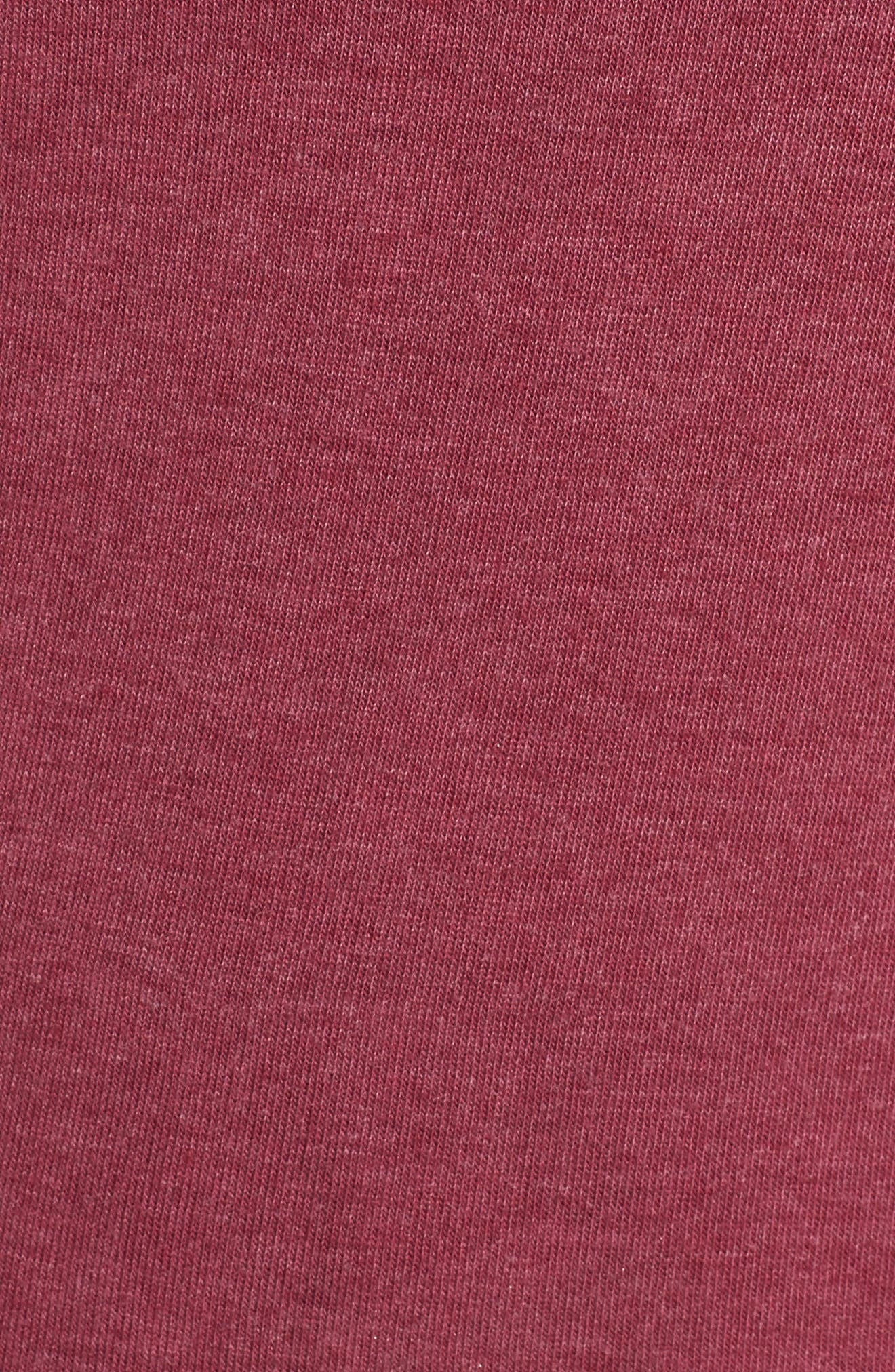 Varsity Crop Sweatshirt,                             Alternate thumbnail 6, color,                             AMOR