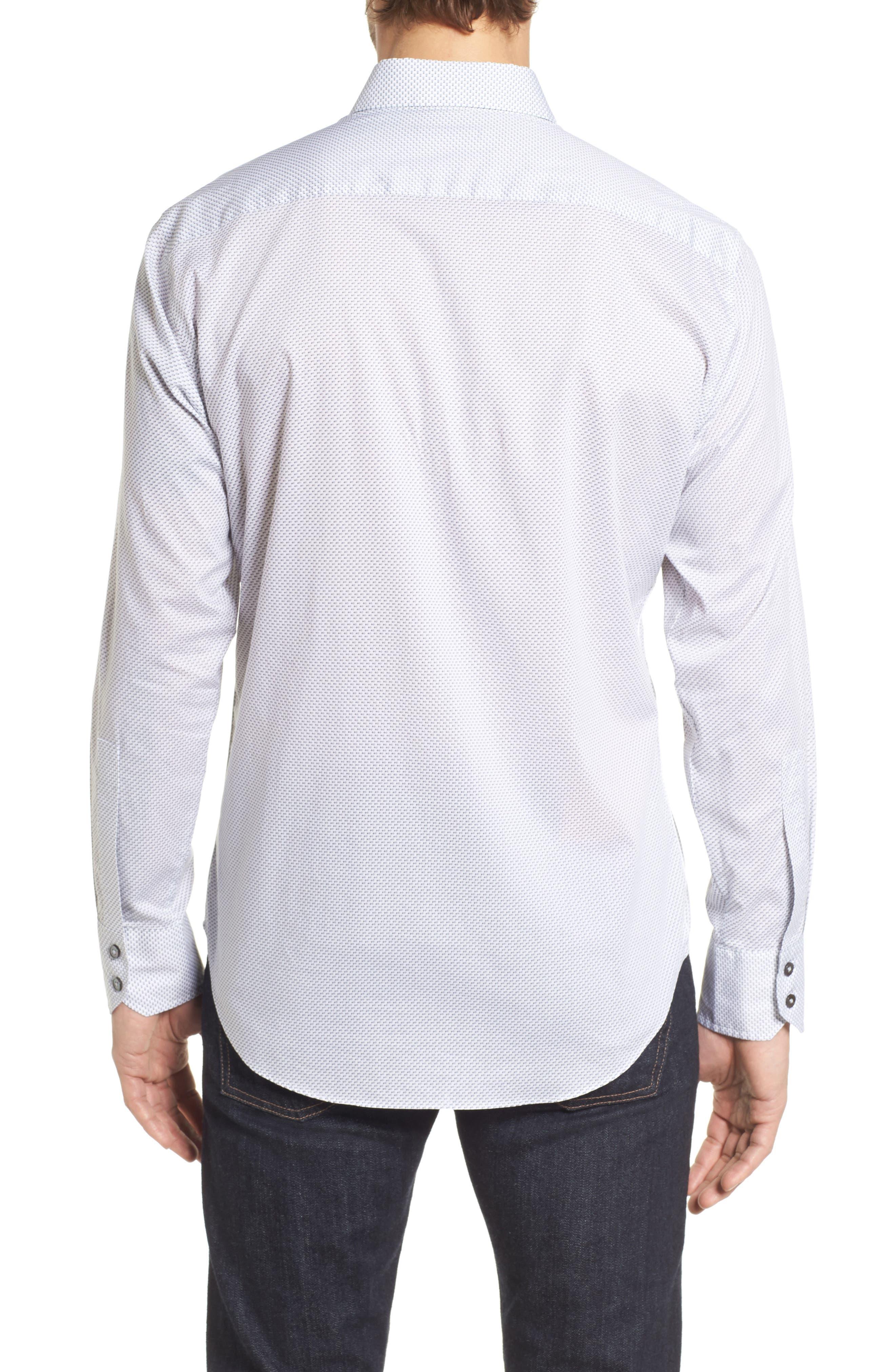 Watts Arrow Print Sport Shirt,                             Alternate thumbnail 2, color,                             020