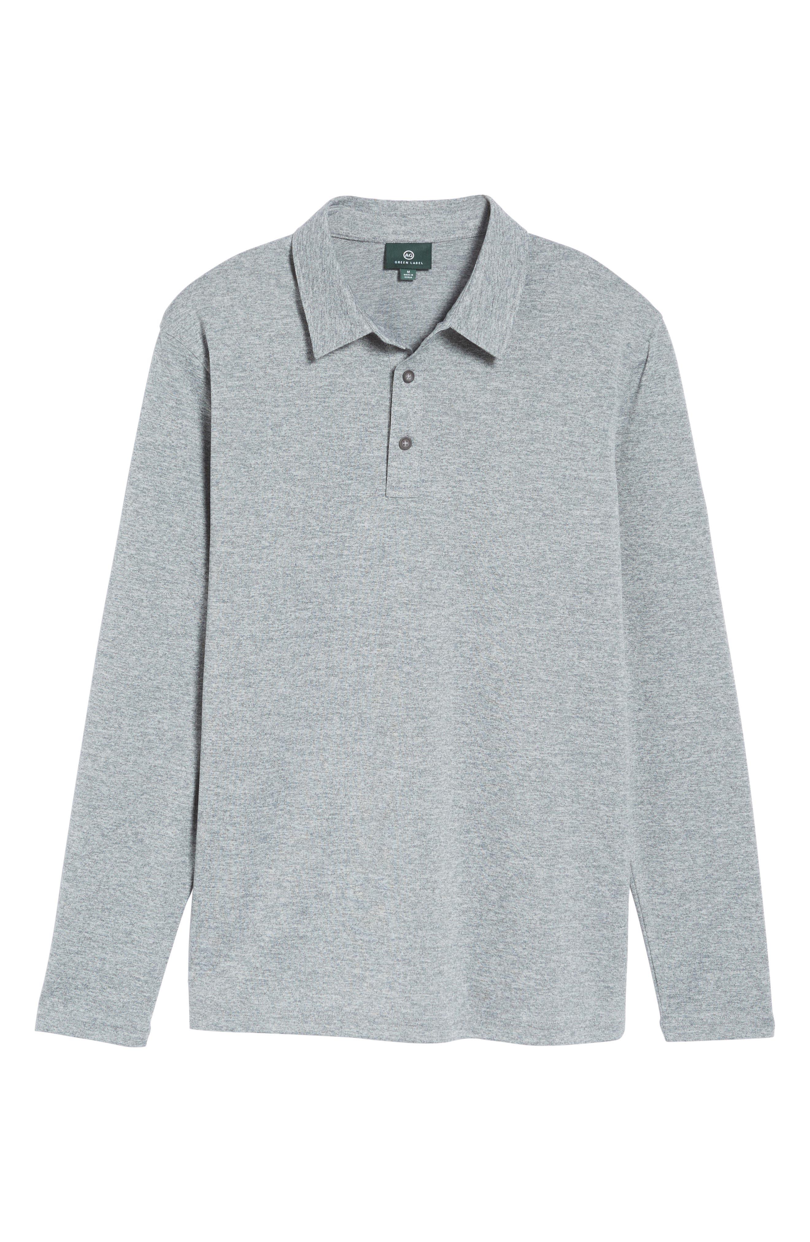 Hamden Long Sleeve Polo,                             Alternate thumbnail 6, color,                             029