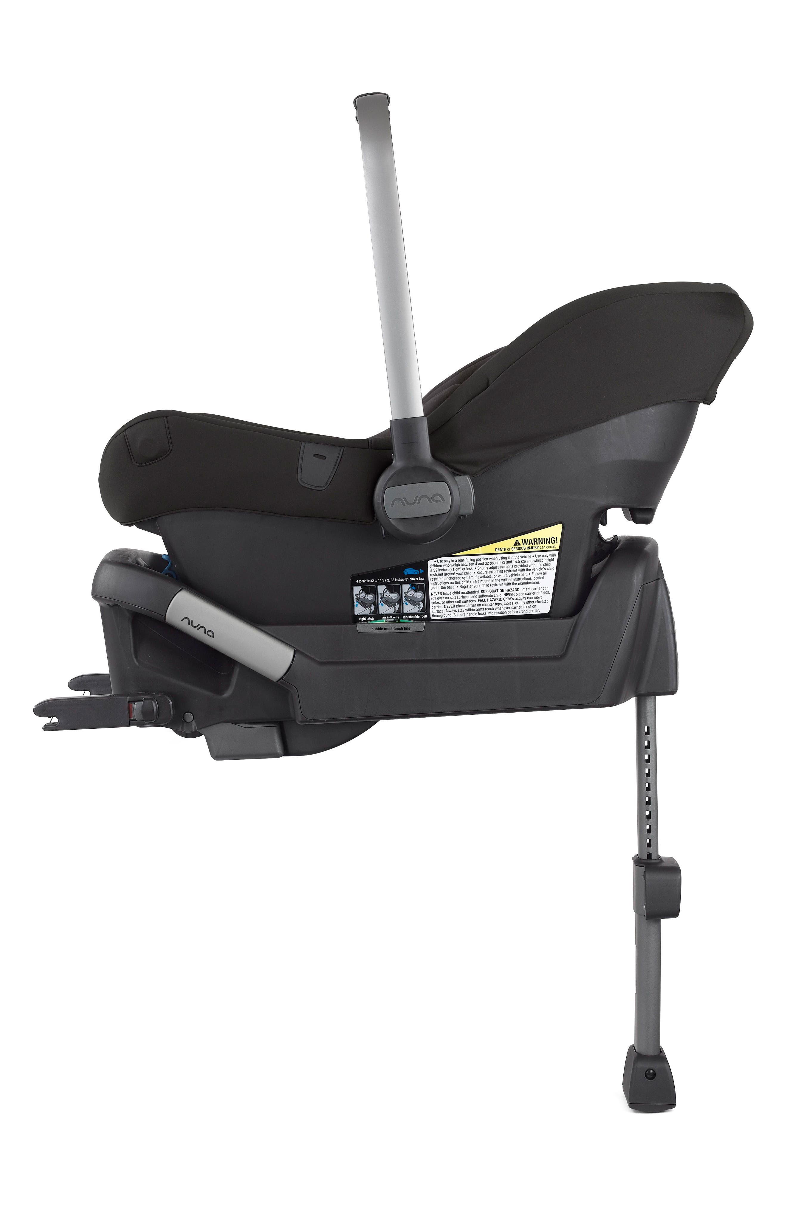 2017 PIPA<sup>™</sup> Lite LX Infant Car Seat & Base,                             Alternate thumbnail 4, color,                             STONE