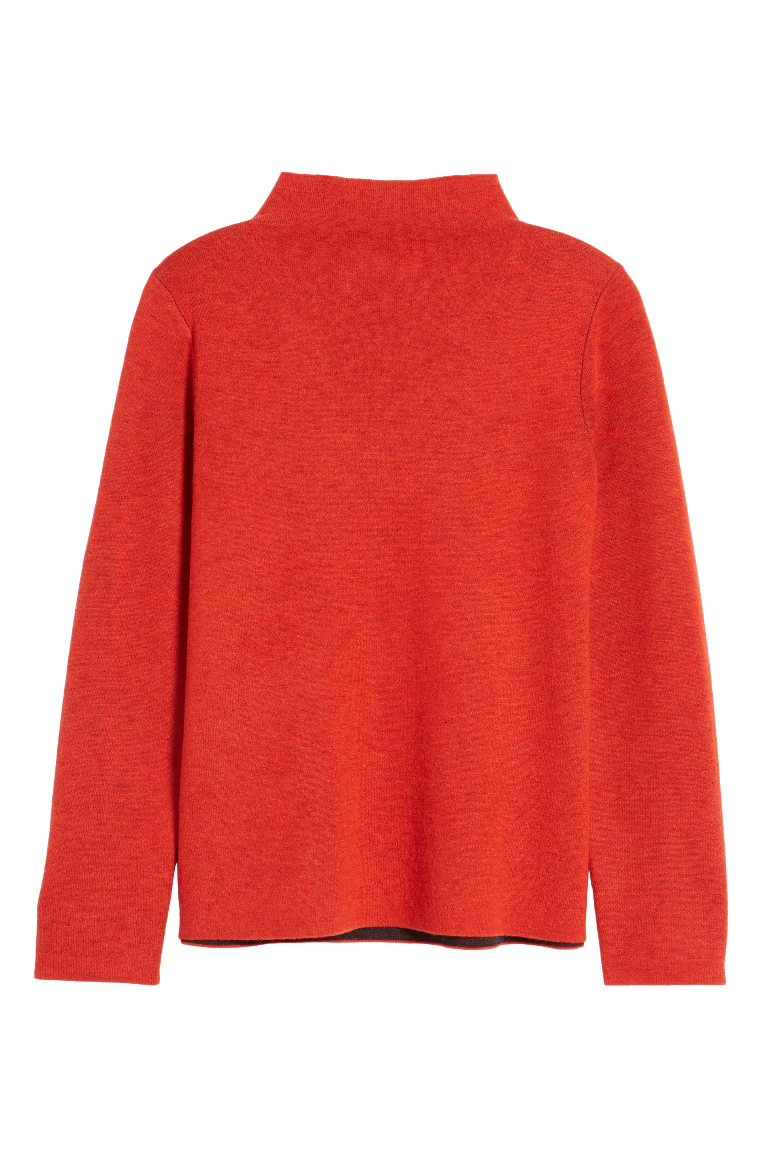 Funnel Neck Sweater,                             Alternate thumbnail 12, color,
