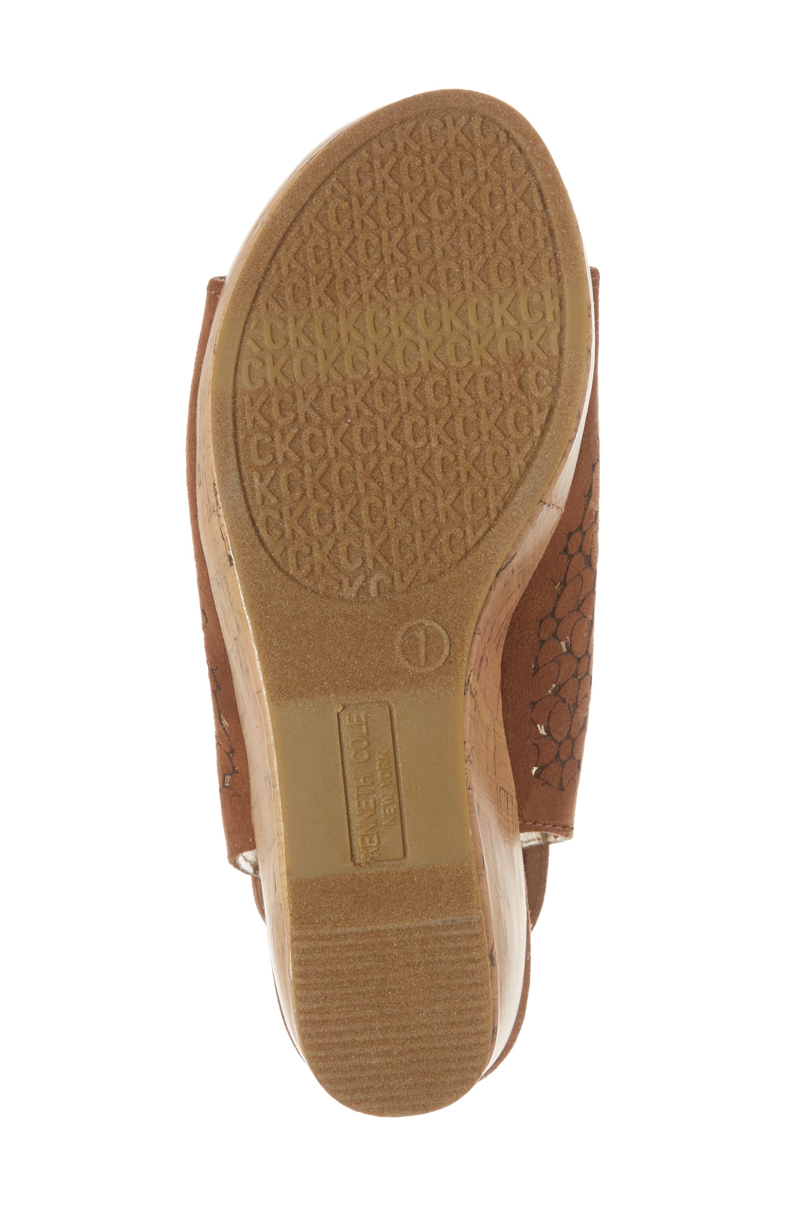 Corrine Finestra Wedge Sandal,                             Alternate thumbnail 6, color,                             255