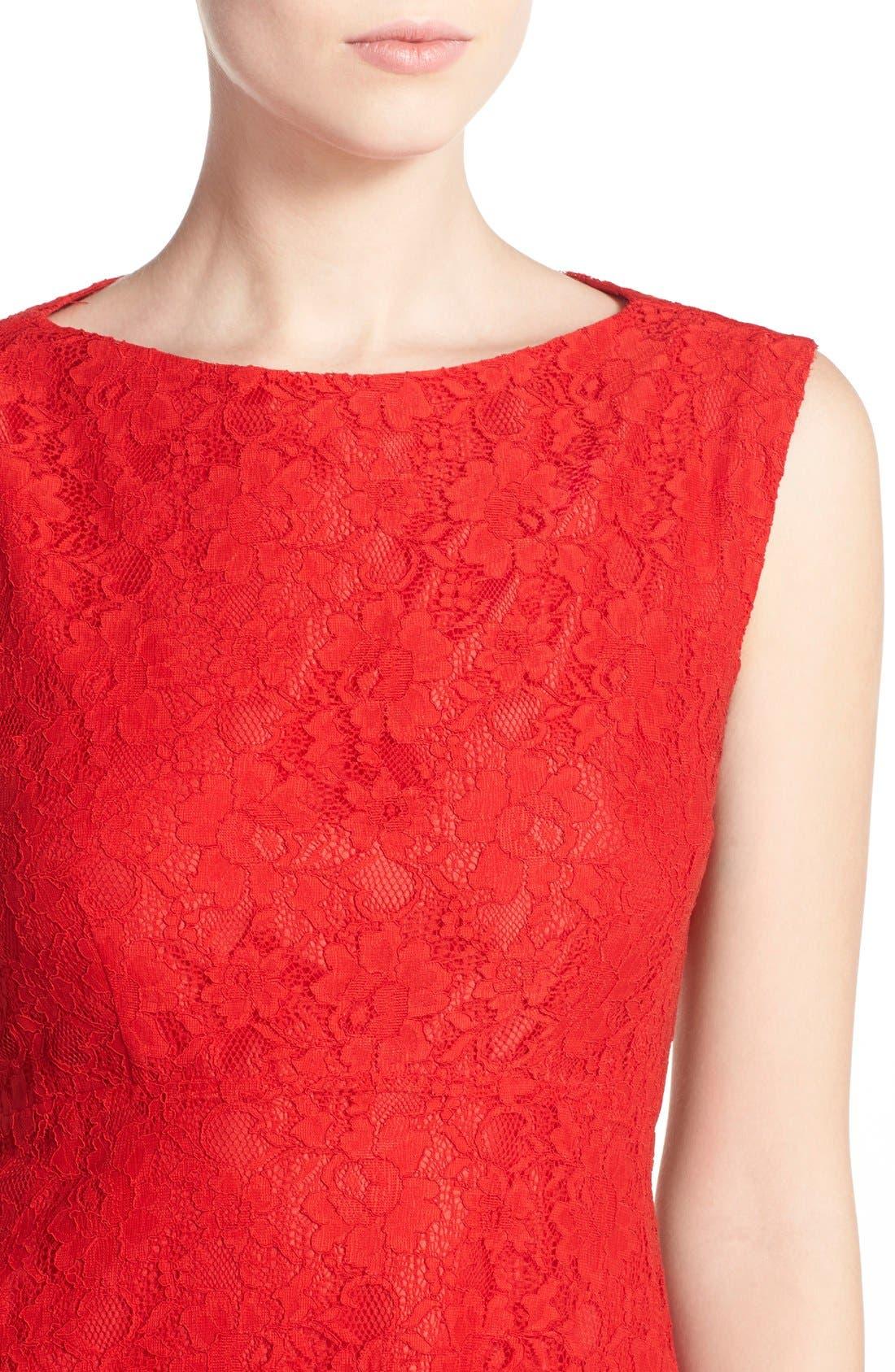 Fit & Flare Dress,                             Alternate thumbnail 22, color,