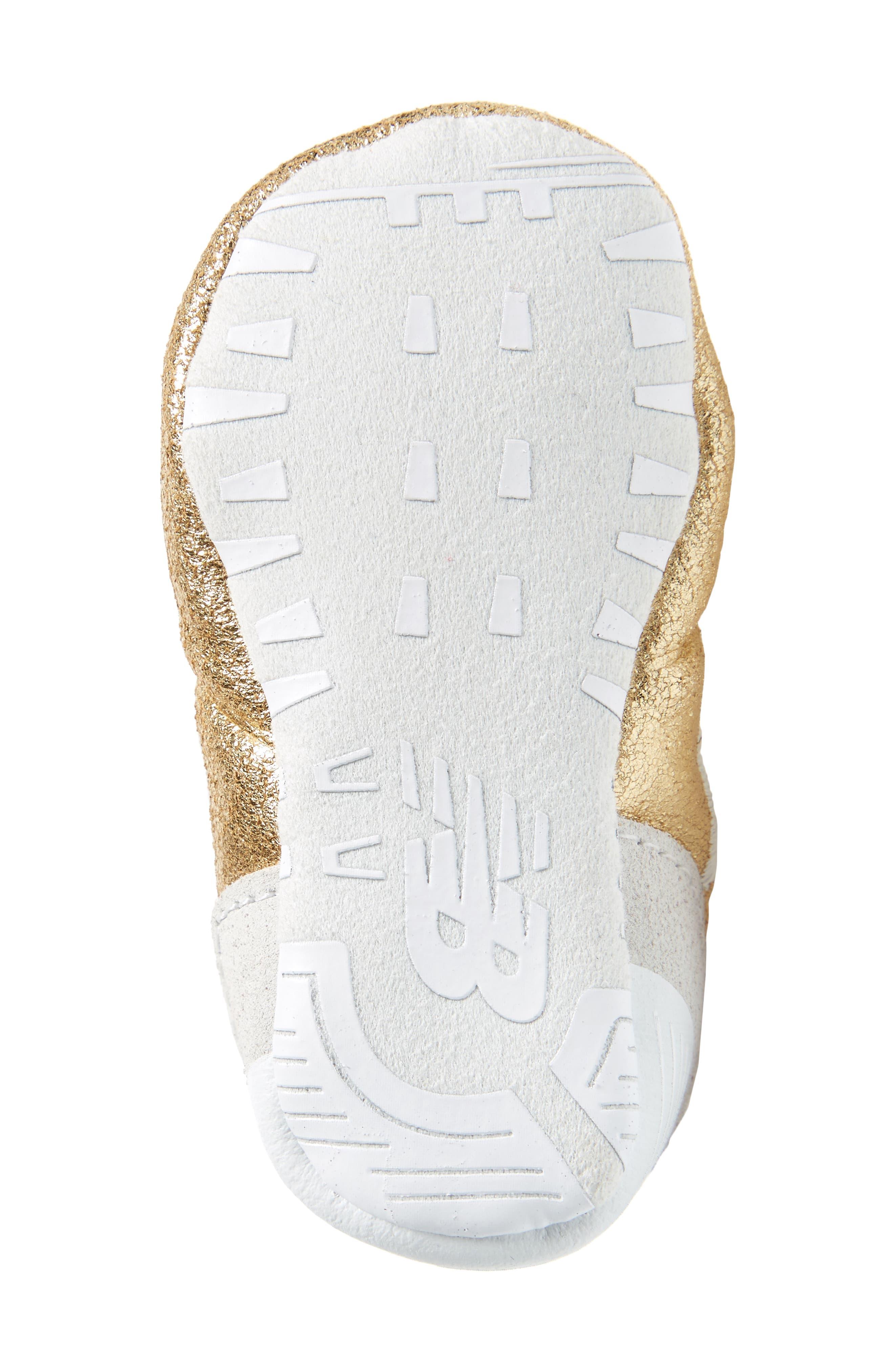 574 Metallic Crib Sneaker,                             Alternate thumbnail 12, color,