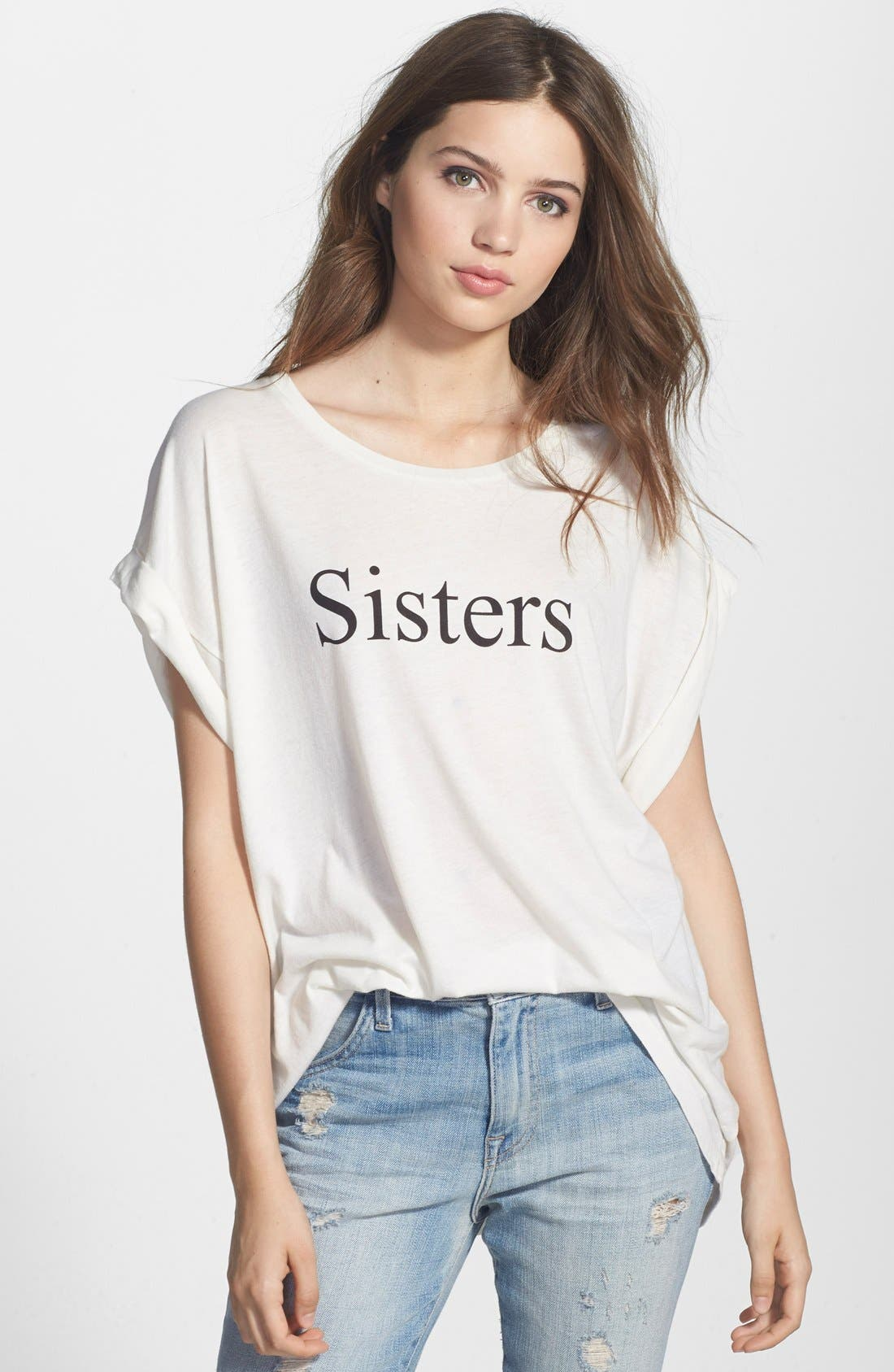 'Sisters' Tee, Main, color, 900