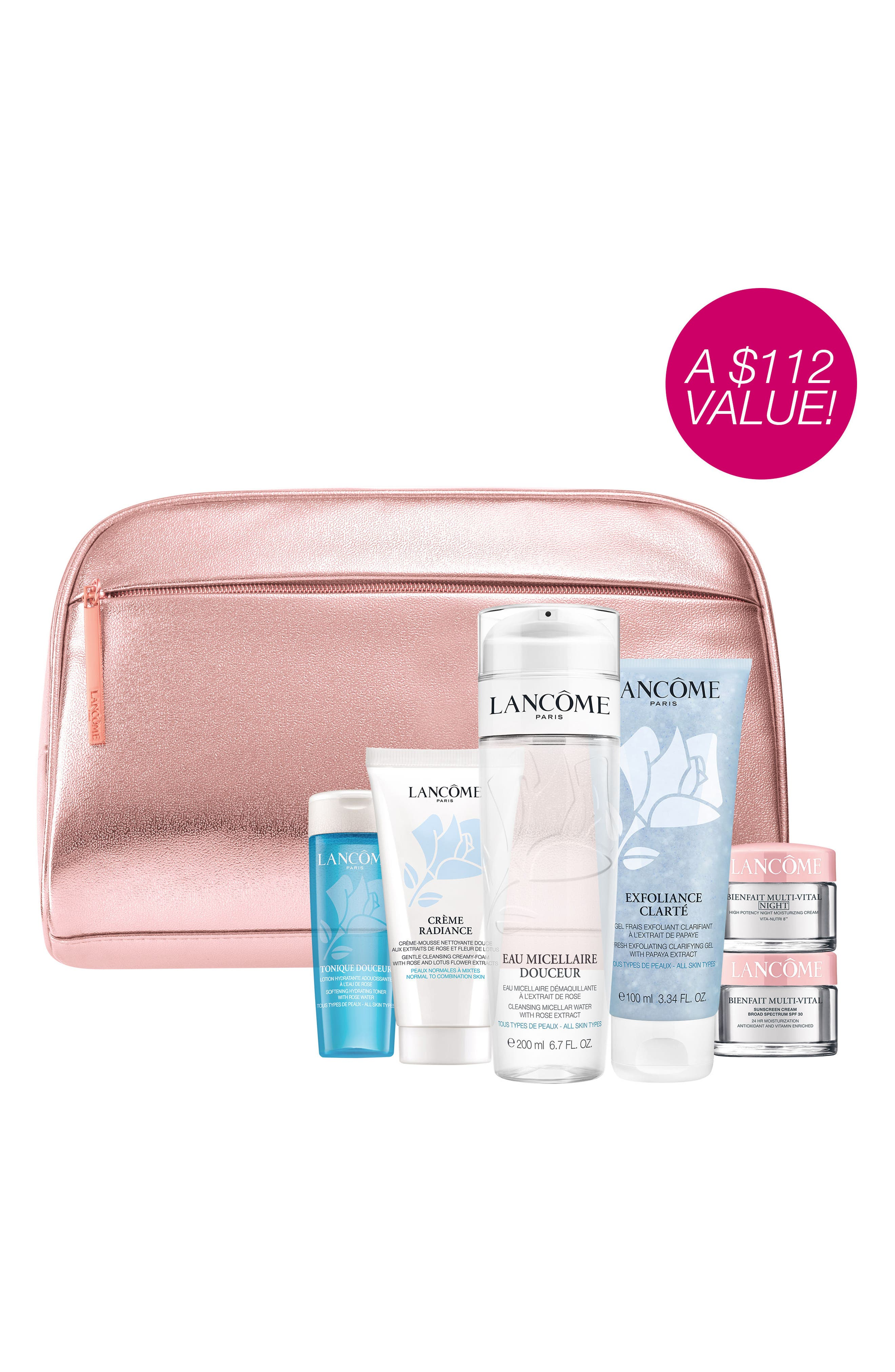 Skin Care Essentials Collection,                             Alternate thumbnail 2, color,                             000
