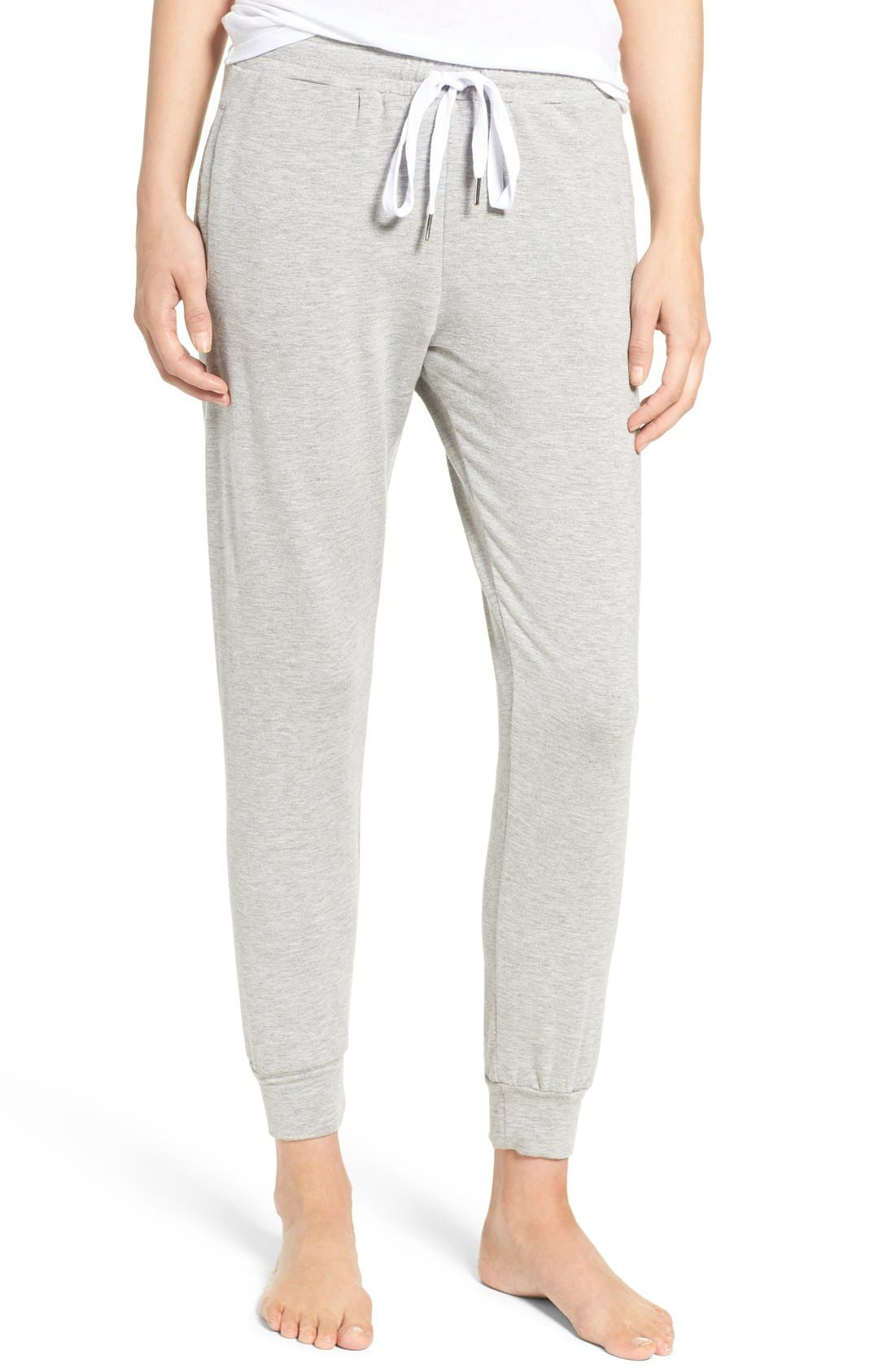 Lounge Pants,                         Main,                         color, HEATHER