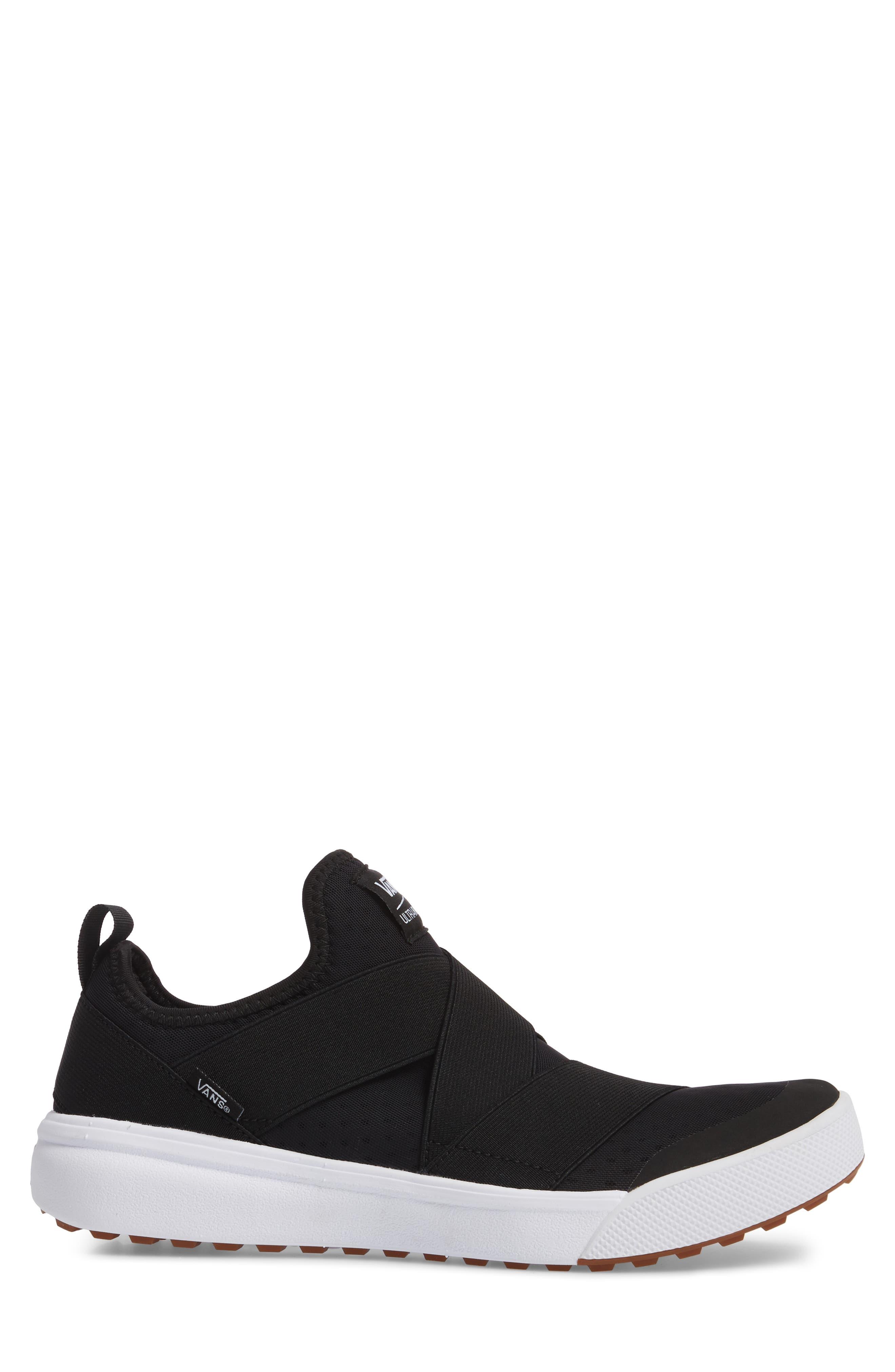 UltraRange Gore Slip-On Sneaker,                             Alternate thumbnail 3, color,                             001