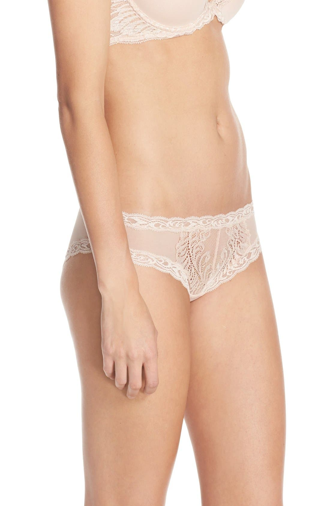 Feathers Hipster Briefs,                             Alternate thumbnail 121, color,