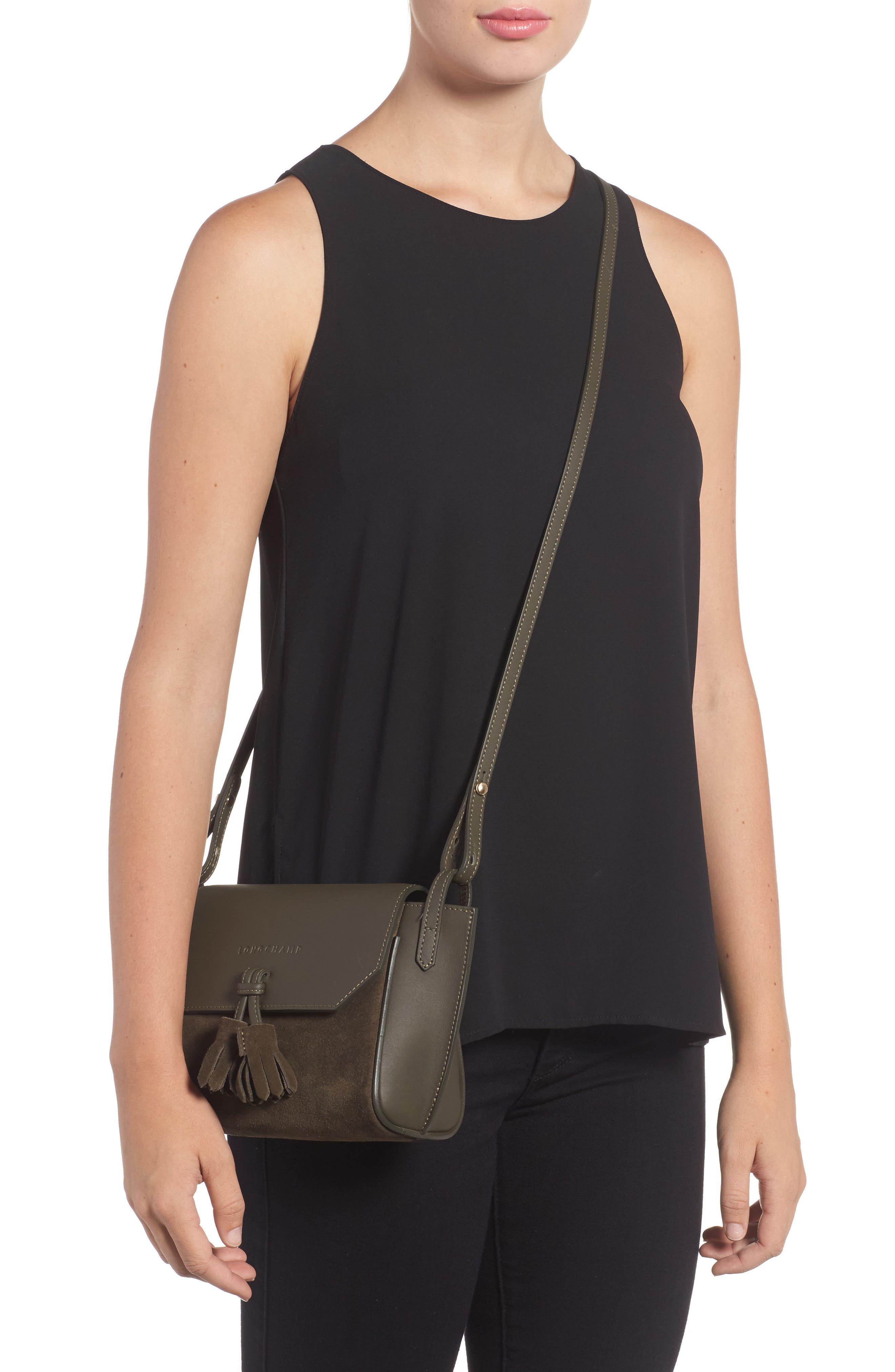 Small Penelope Leather Crossbody Bag,                             Alternate thumbnail 2, color,