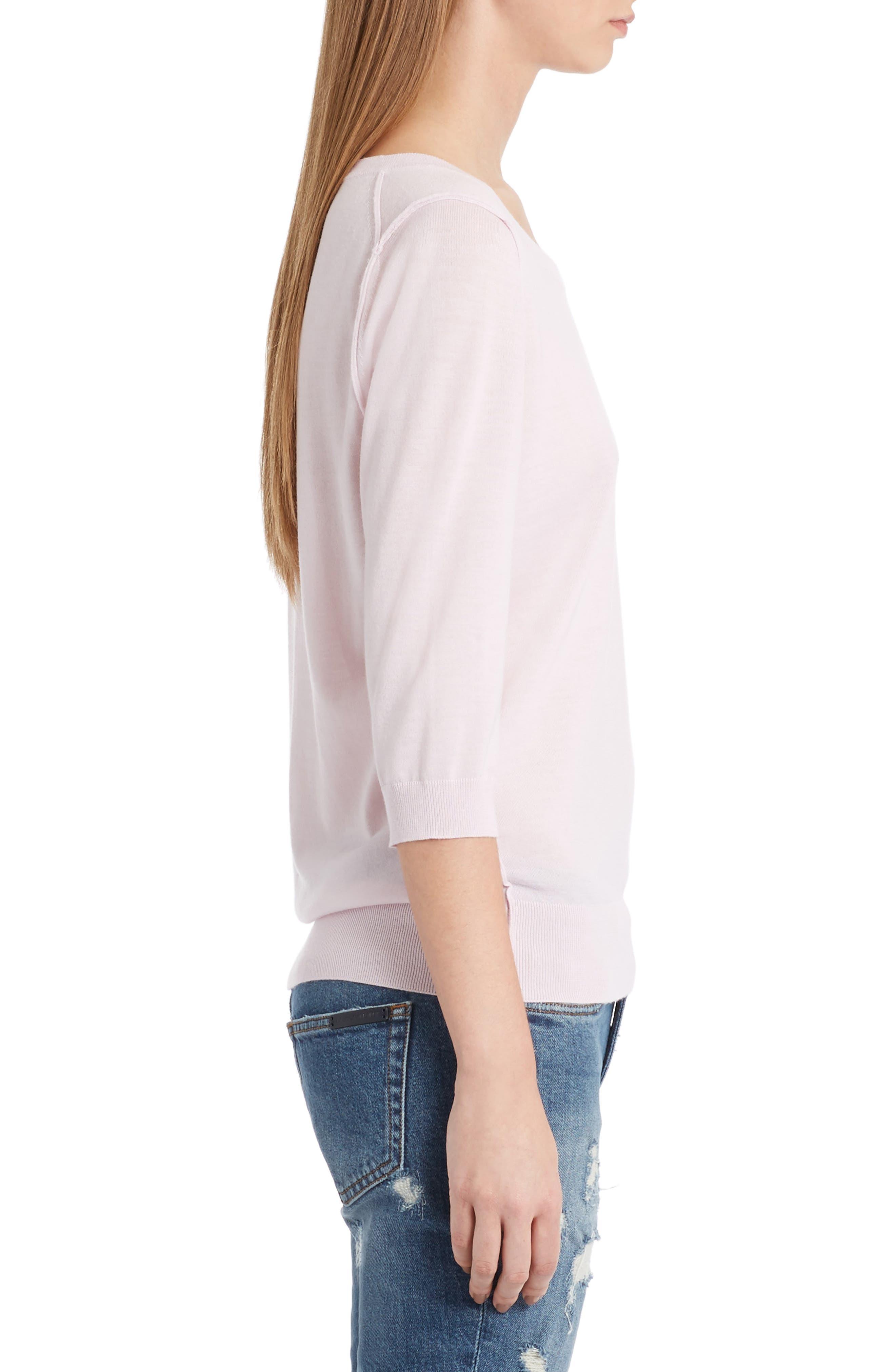 Cashmere Sweater,                             Alternate thumbnail 3, color,                             680
