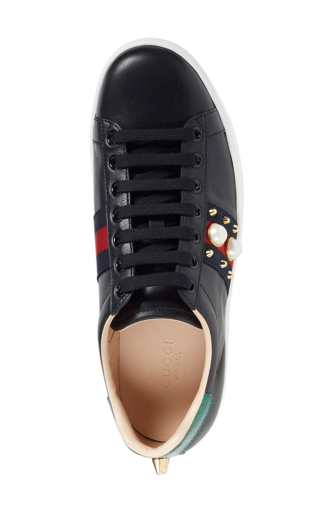 'New Ace' Low Top Sneaker,                             Alternate thumbnail 10, color,