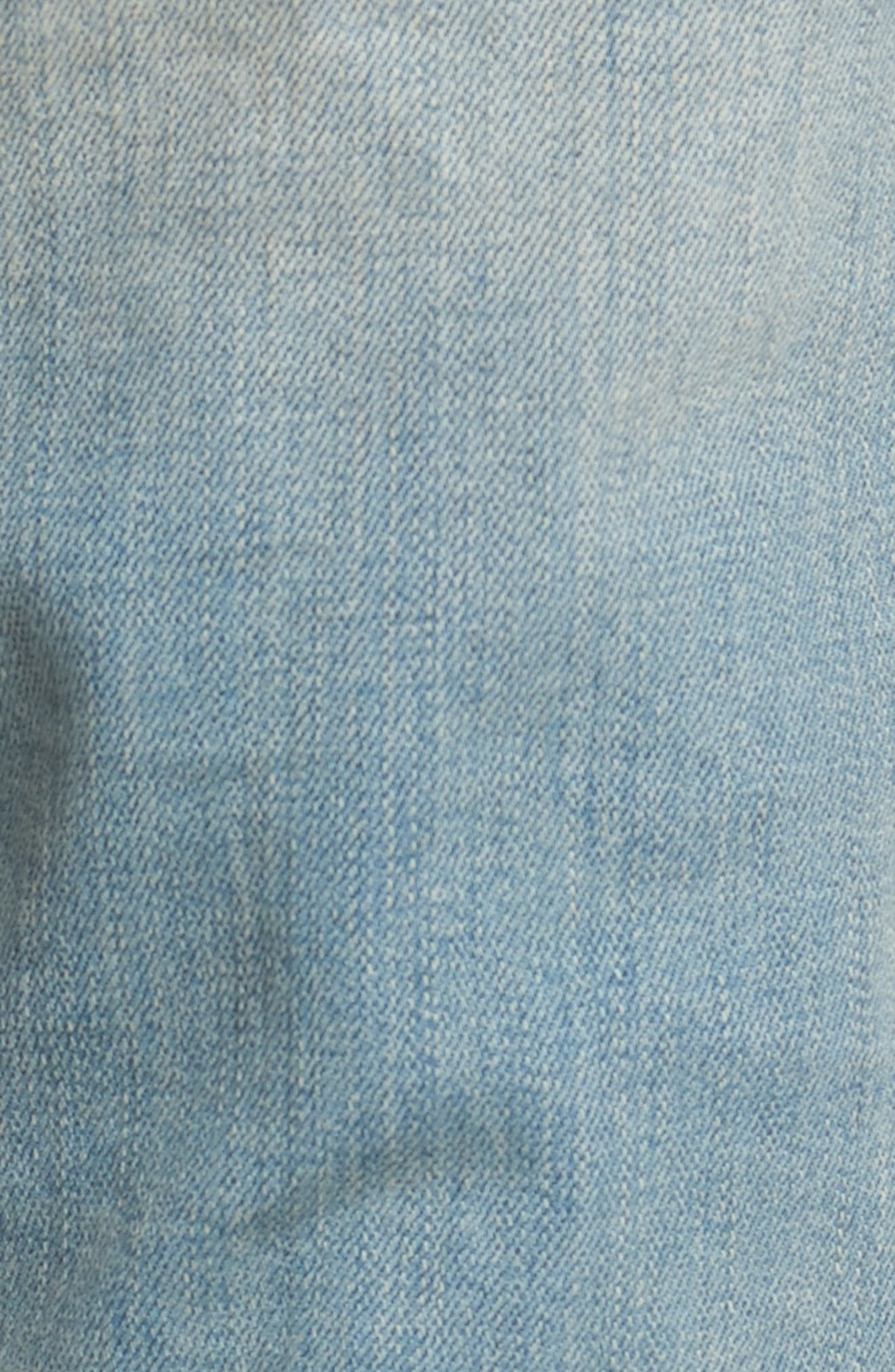 Slim Fit Distressed Jeans,                             Alternate thumbnail 10, color,
