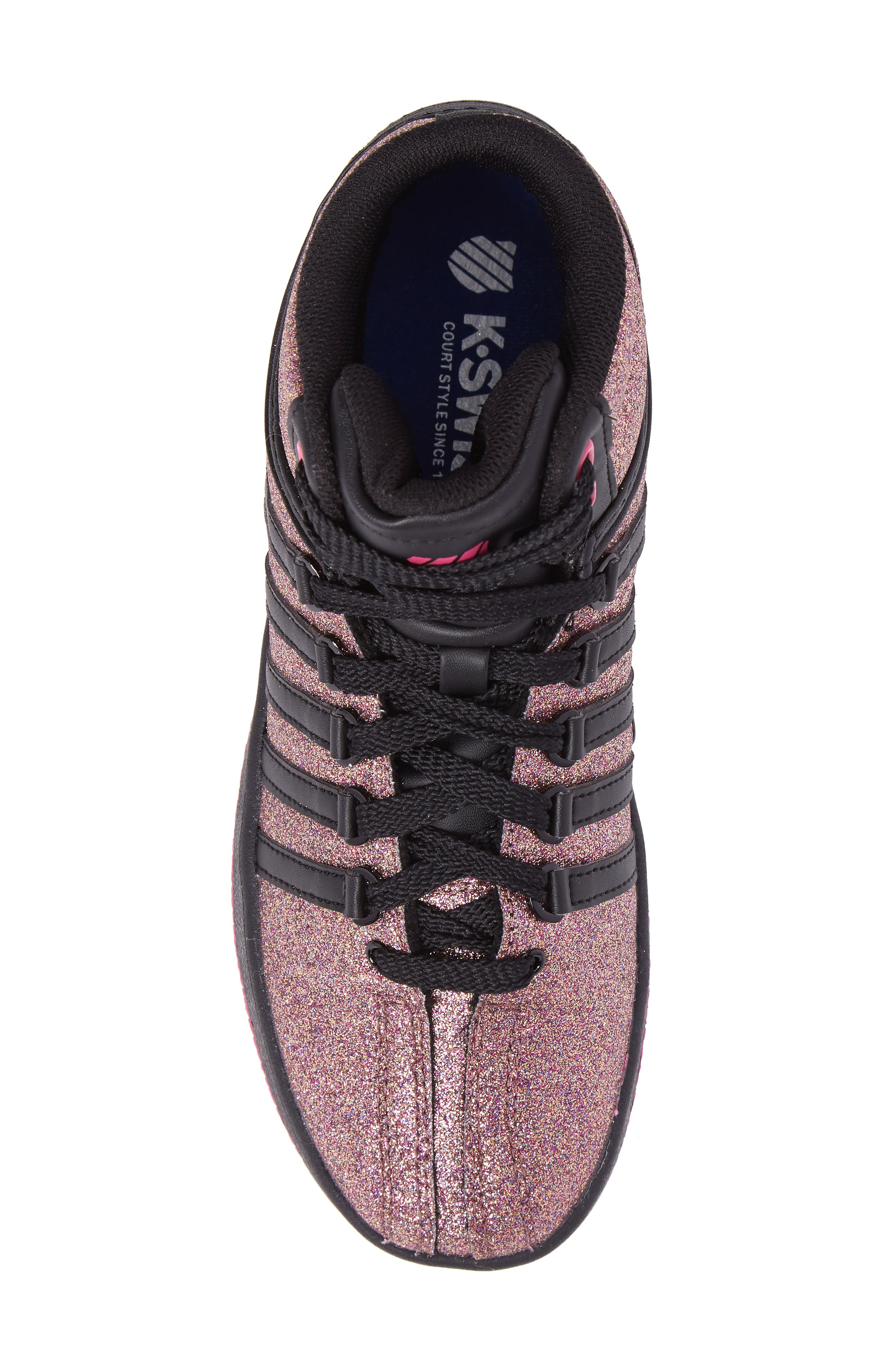 Classic VN Sparkle Mid Sneaker,                             Alternate thumbnail 5, color,                             MULTI SPARKLE