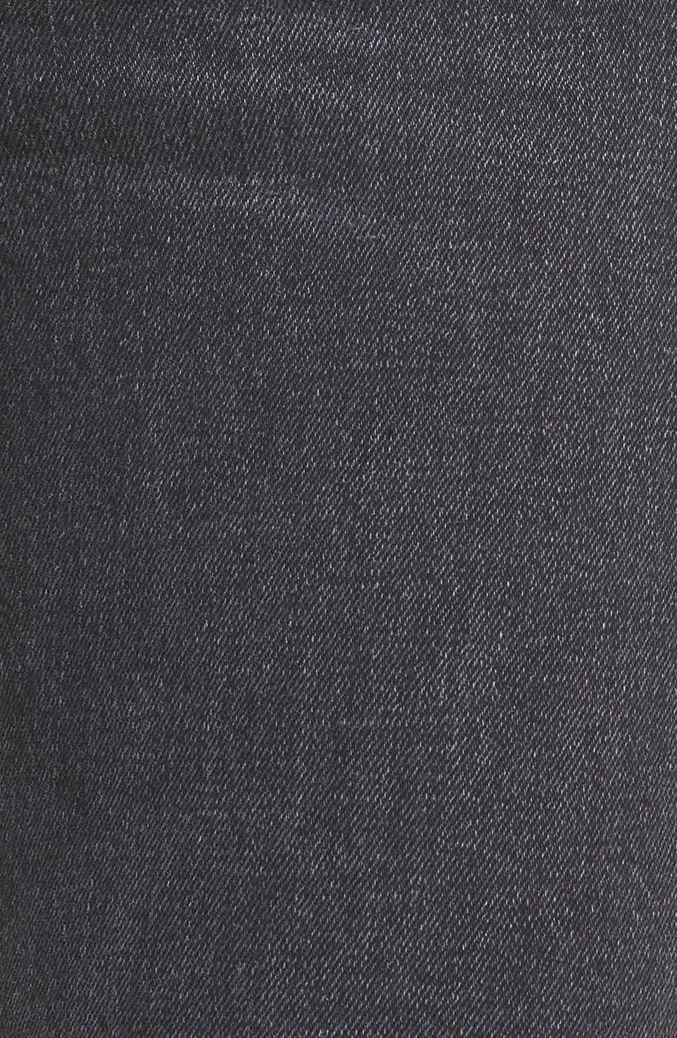 Heartbreaker High Waist Bootcut Jeans,                             Alternate thumbnail 5, color,                             001