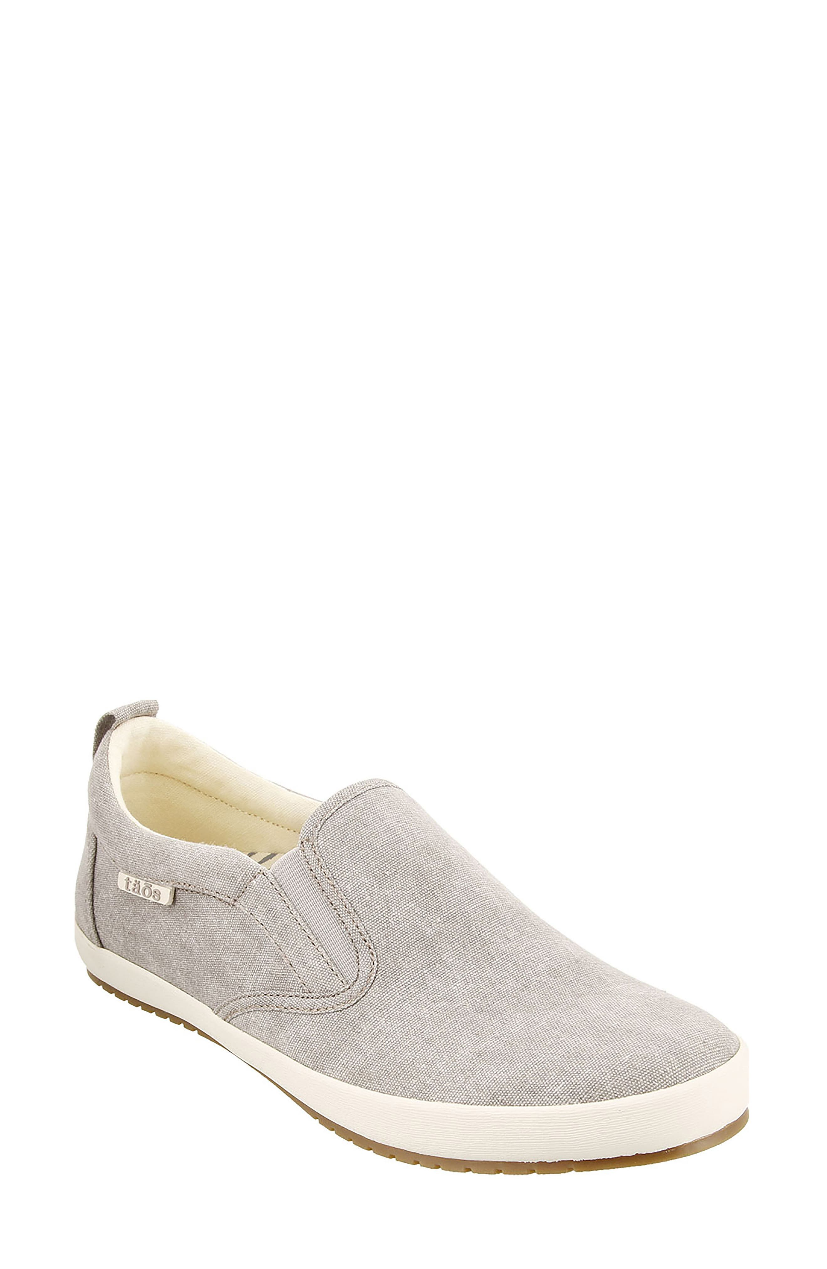 Dandy Slip-On Sneaker,                             Main thumbnail 1, color,                             GREY WASHED CANVAS