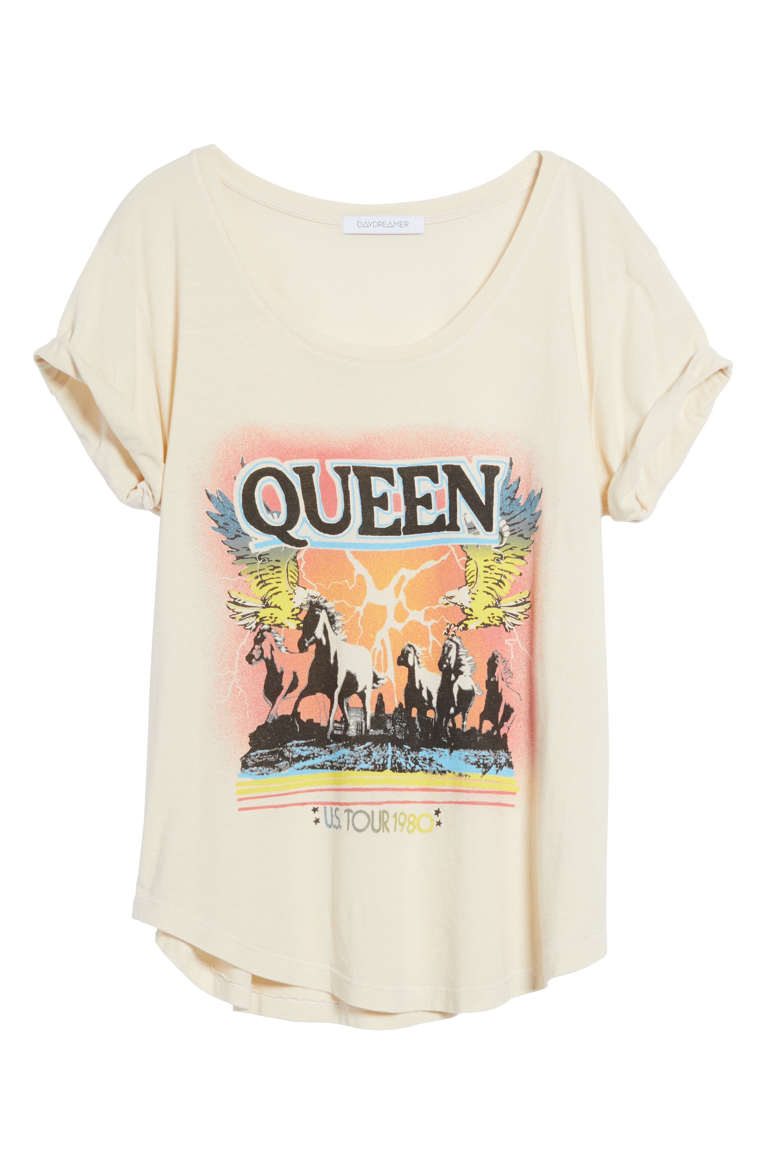 Queen Graphic Tee,                             Alternate thumbnail 6, color,                             900