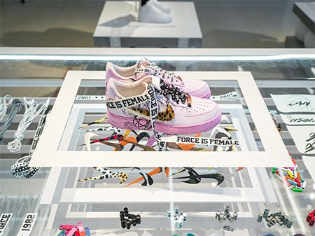 Nordstrom x Nike: The Make Your Mark Pop-Up Design Studio.