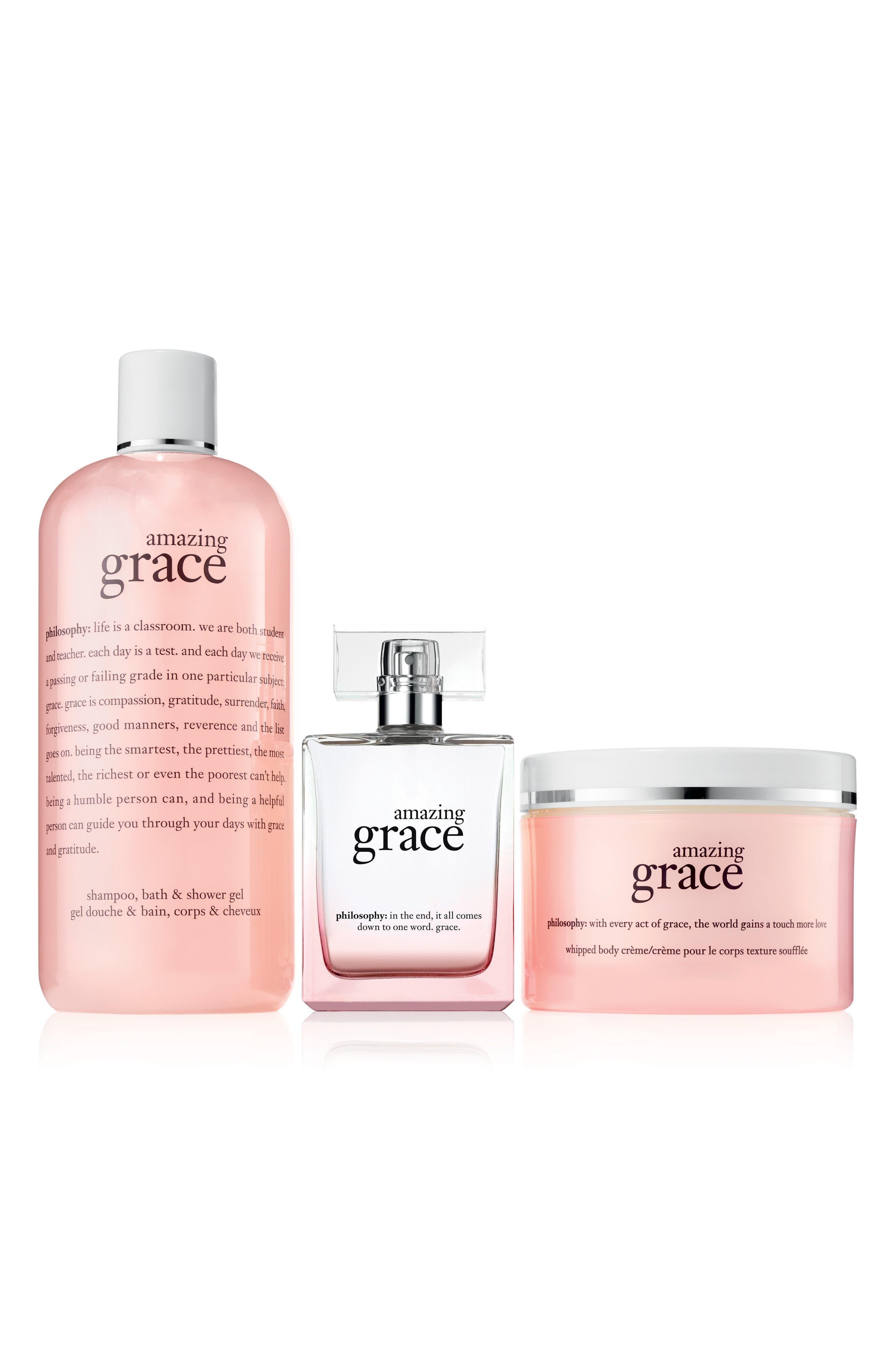 amazing grace set,                             Main thumbnail 1, color,                             000