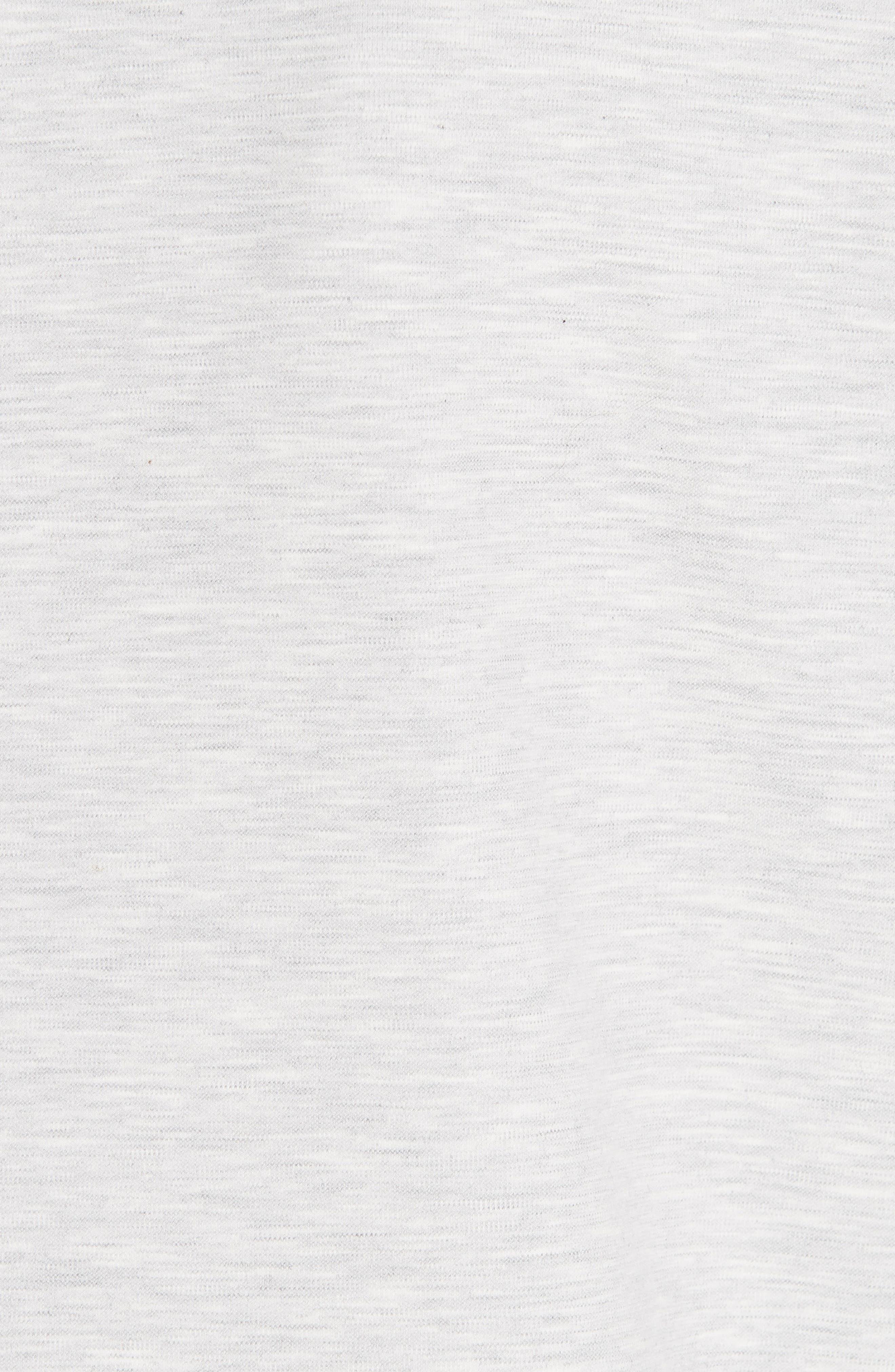 Jersey Long Blazer,                             Alternate thumbnail 7, color,                             GREY