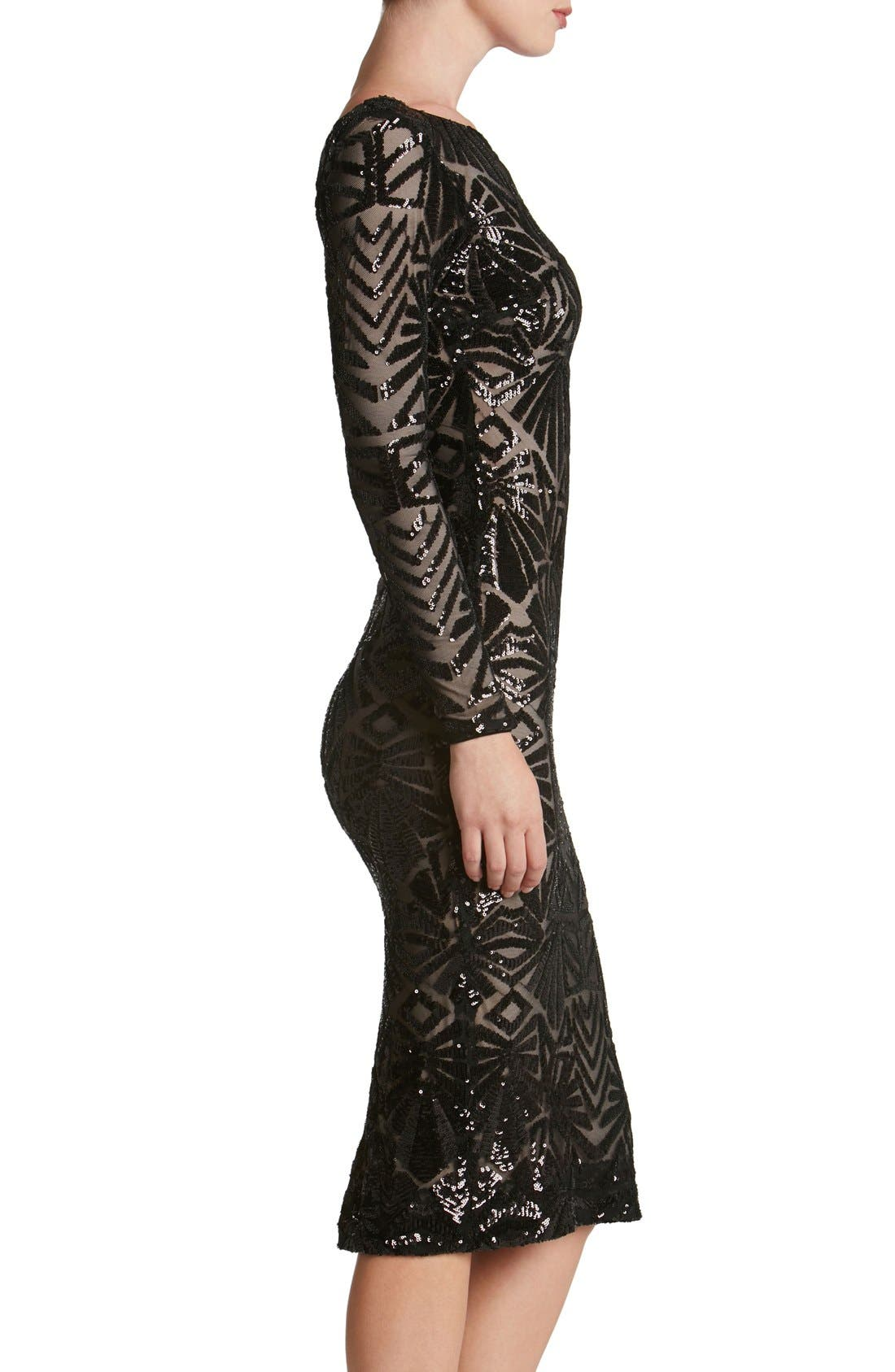 Emery Midi Dress,                             Alternate thumbnail 22, color,