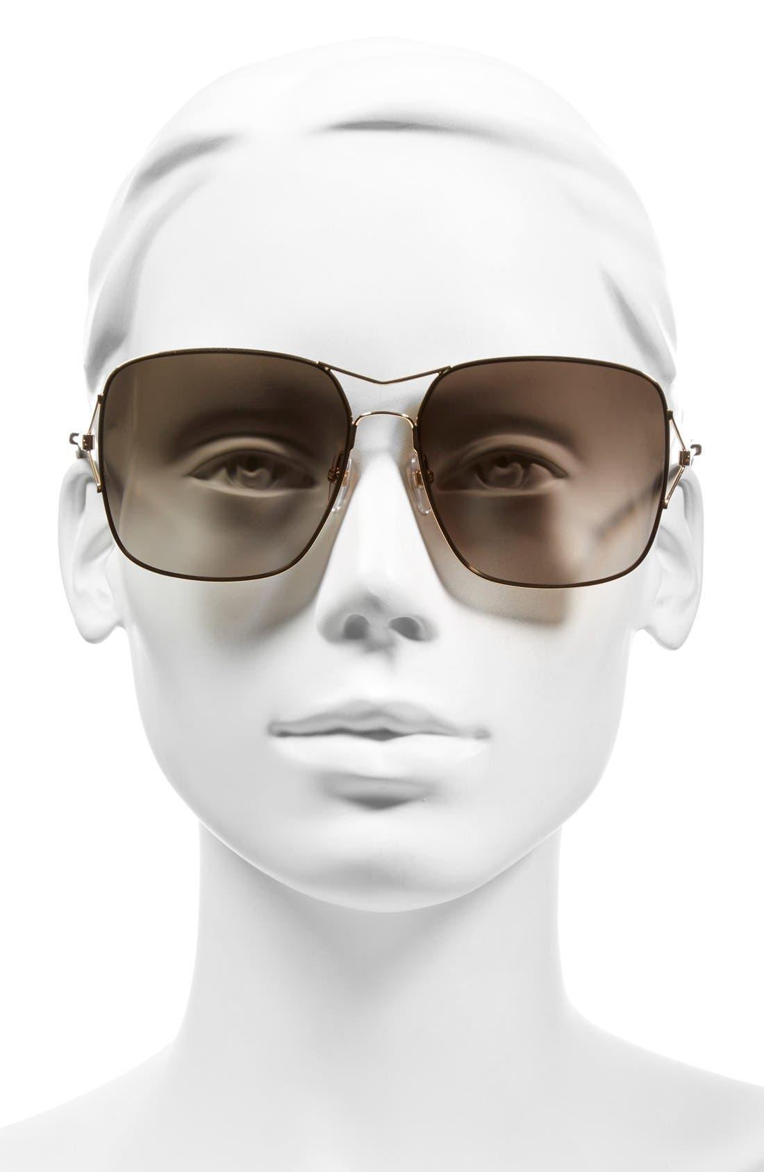58mm Sunglasses,                             Alternate thumbnail 5, color,