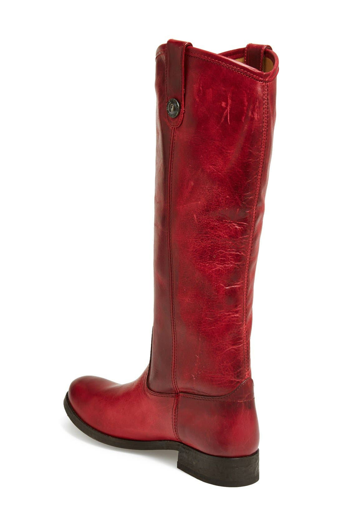 'Melissa Button' Leather Riding Boot,                             Alternate thumbnail 125, color,