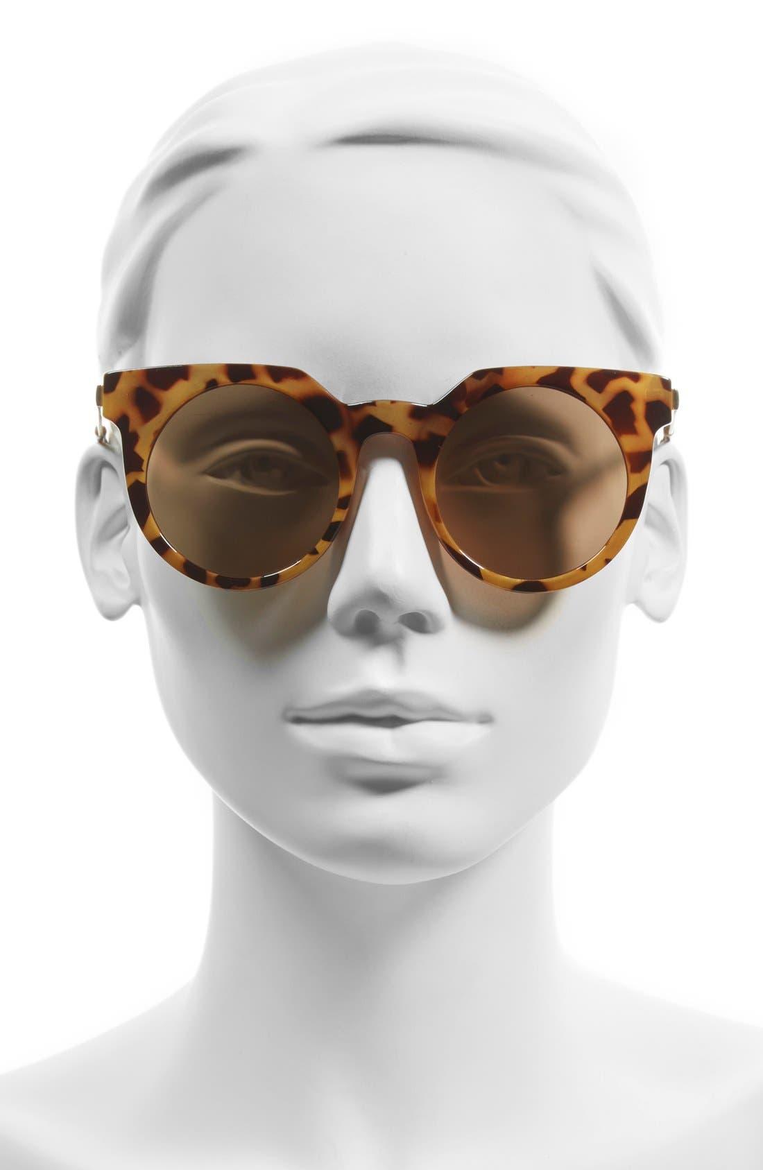BP.,                             45mm Round Lens Sunglasses,                             Alternate thumbnail 2, color,                             210