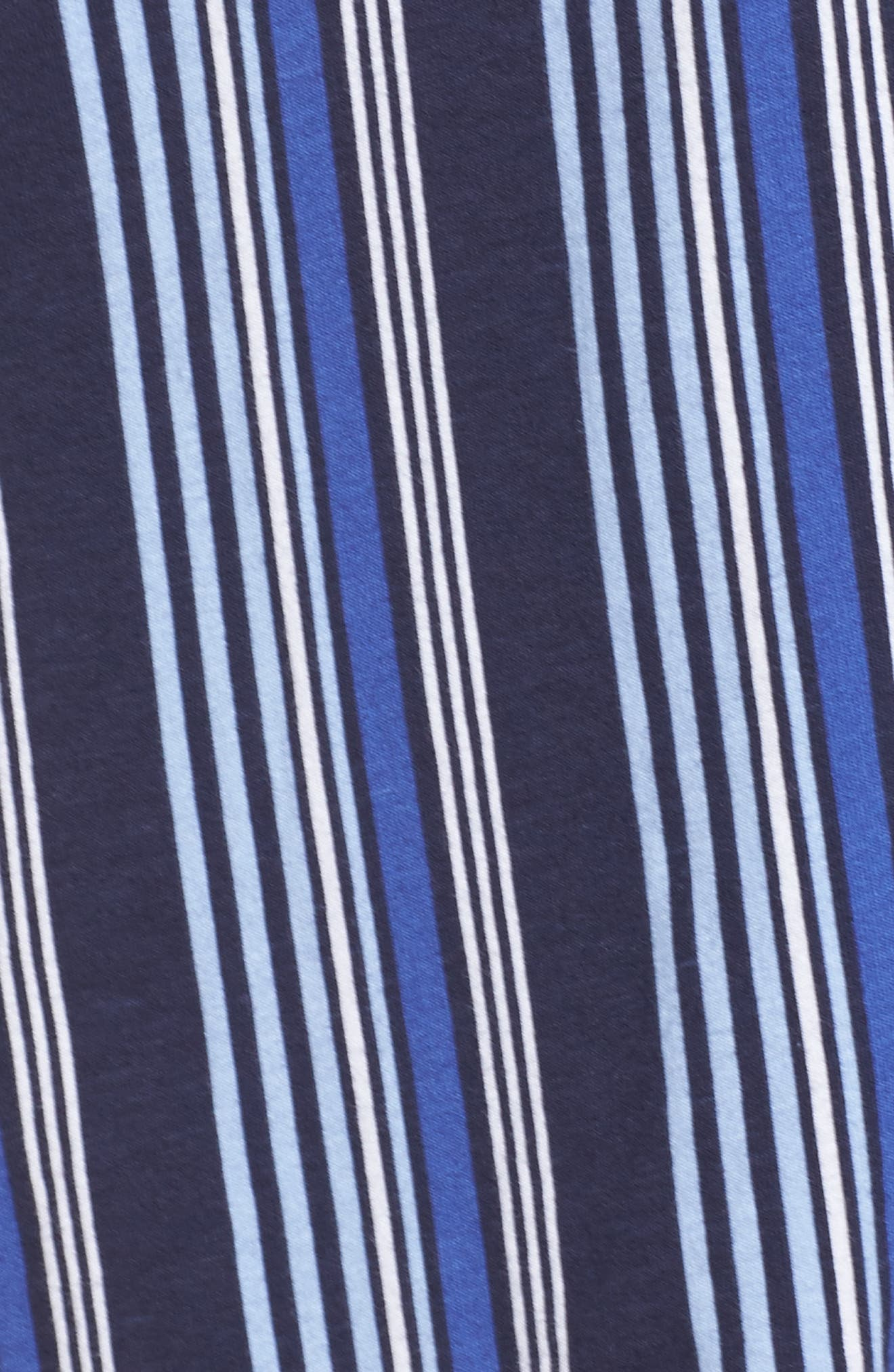 Stripe Sleep Shirt,                             Alternate thumbnail 5, color,                             486