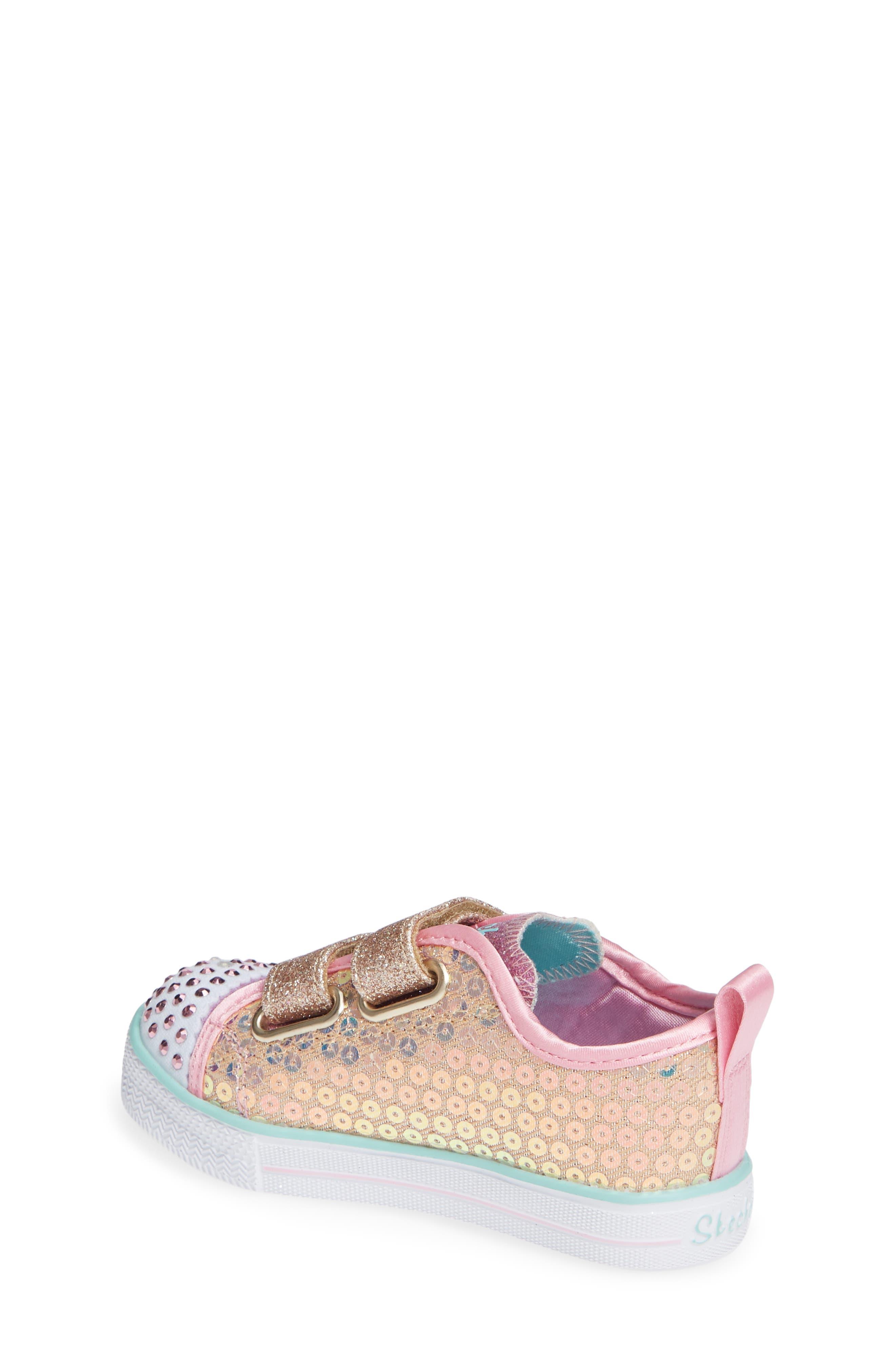 Shuffle Lite Glitter Sneaker,                             Alternate thumbnail 2, color,                             GOLD